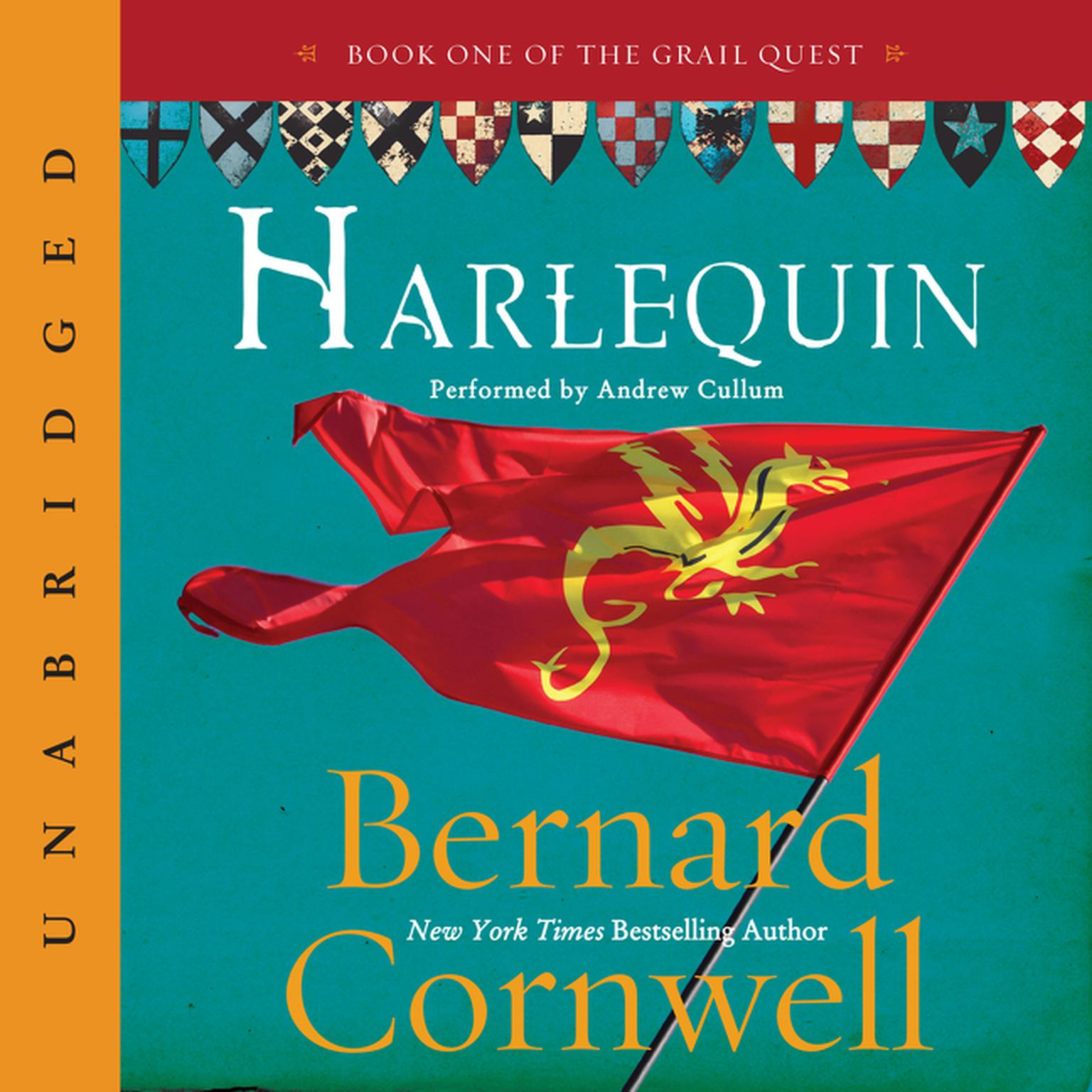 Printable Harlequin Audiobook Cover Art