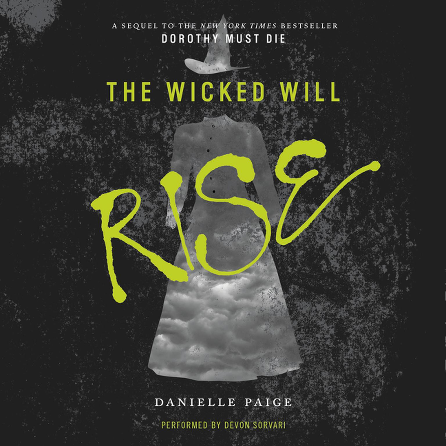 Printable The Wicked Will Rise Audiobook Cover Art