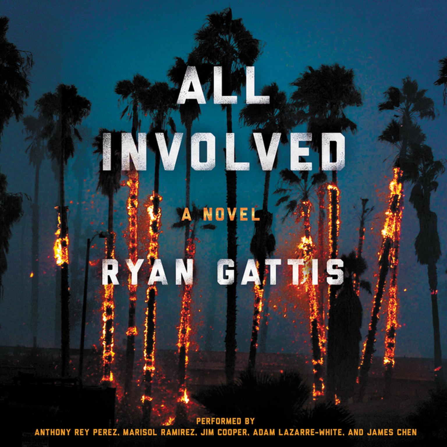 Printable All Involved: A Novel Audiobook Cover Art