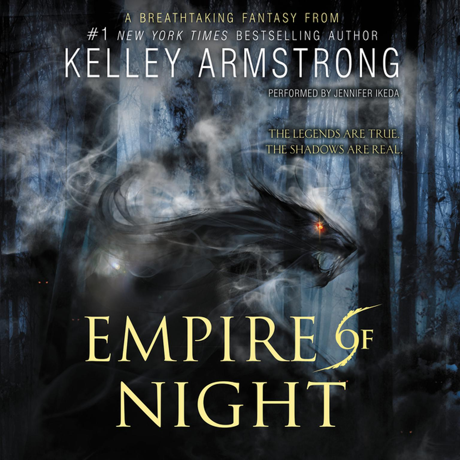 Printable Empire of Night Audiobook Cover Art