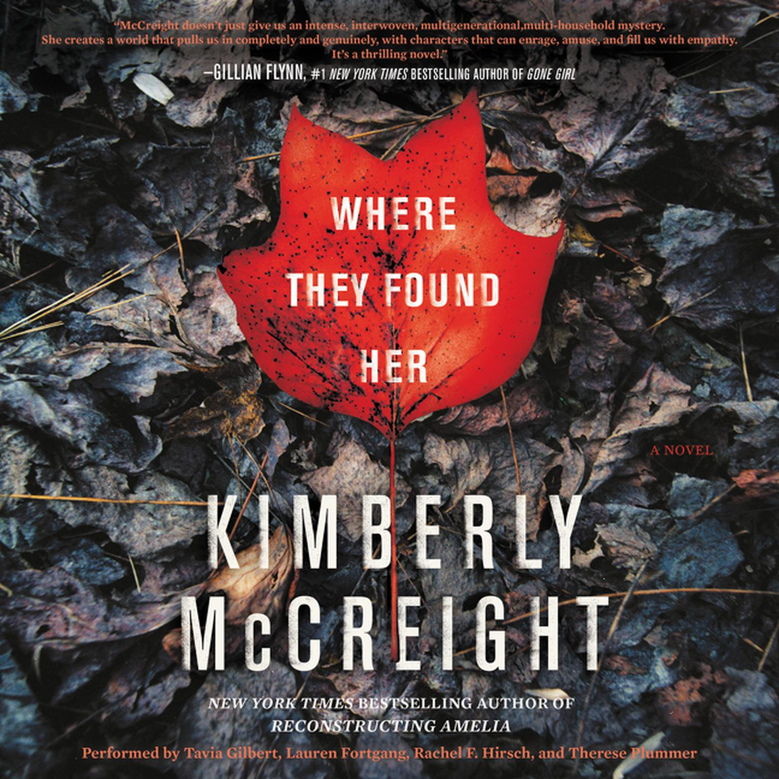 Printable Where They Found Her: A Novel Audiobook Cover Art