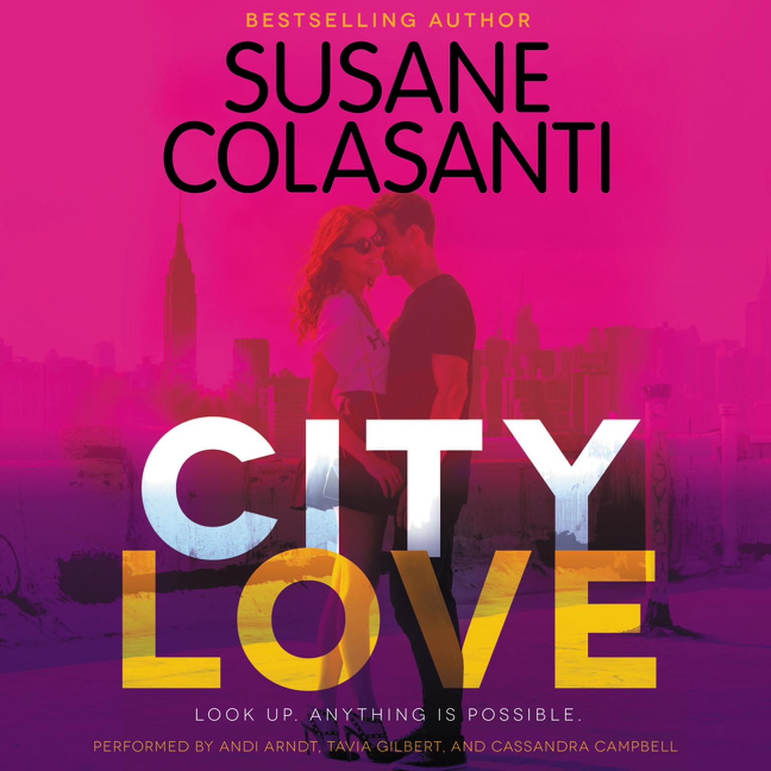 Printable City Love Audiobook Cover Art