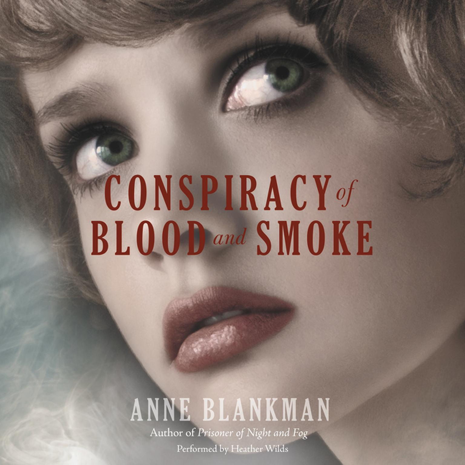 Printable Conspiracy of Blood and Smoke Audiobook Cover Art