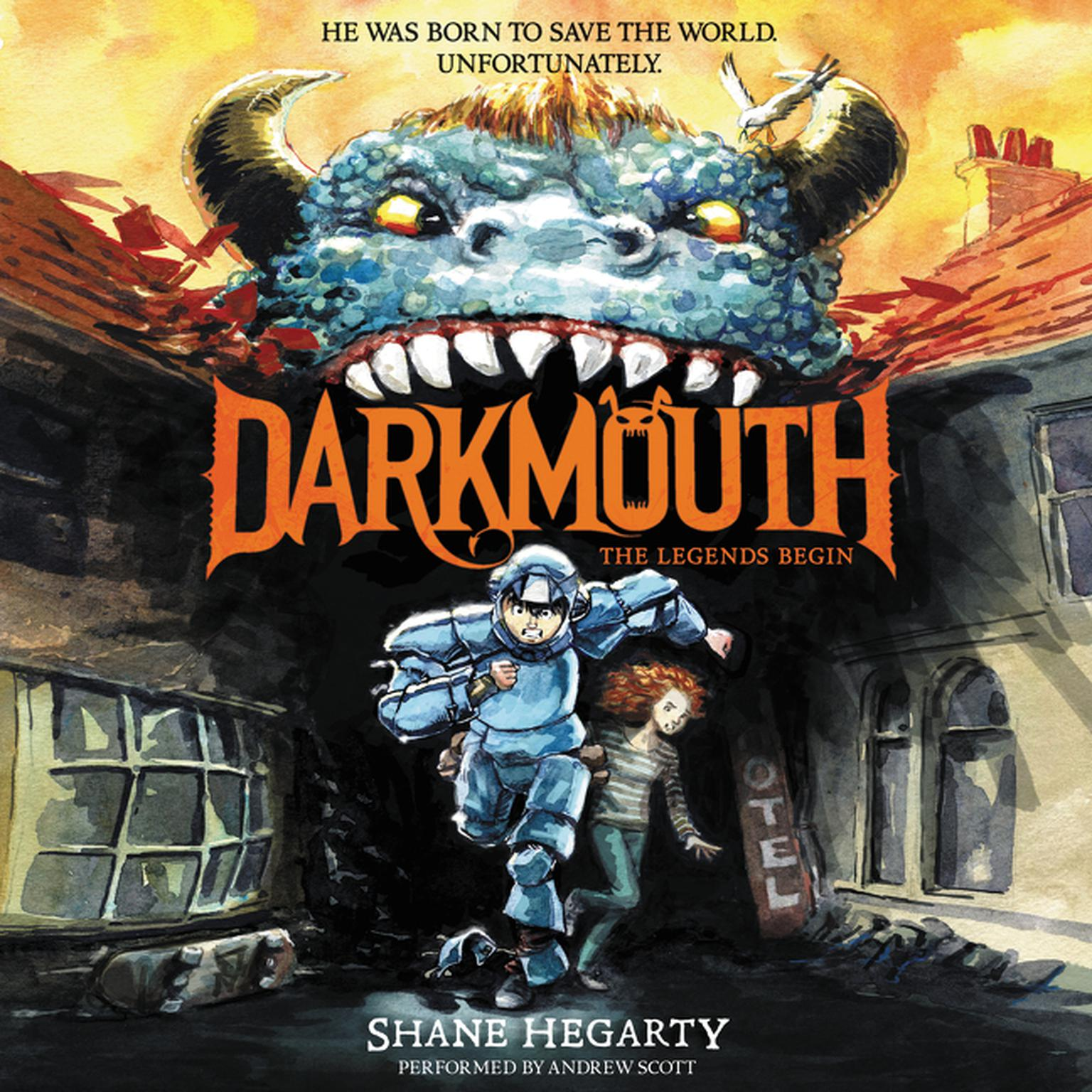 Printable Darkmouth #1: The Legends Begin Audiobook Cover Art