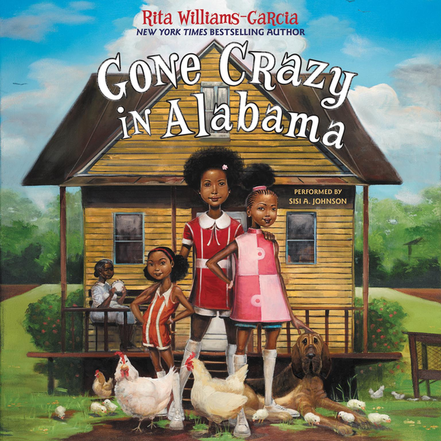 Printable Gone Crazy in Alabama Audiobook Cover Art