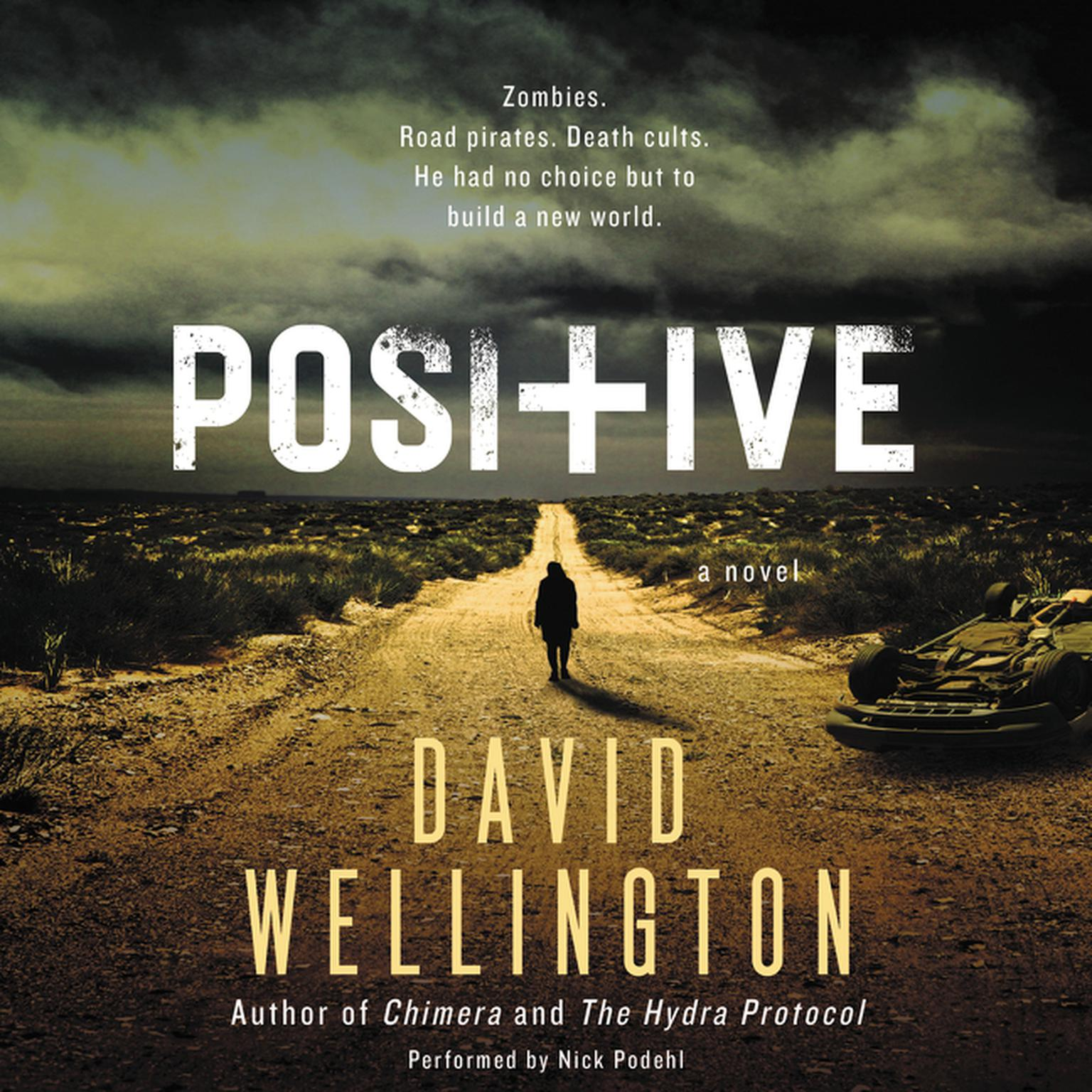 Printable Positive: A Novel Audiobook Cover Art
