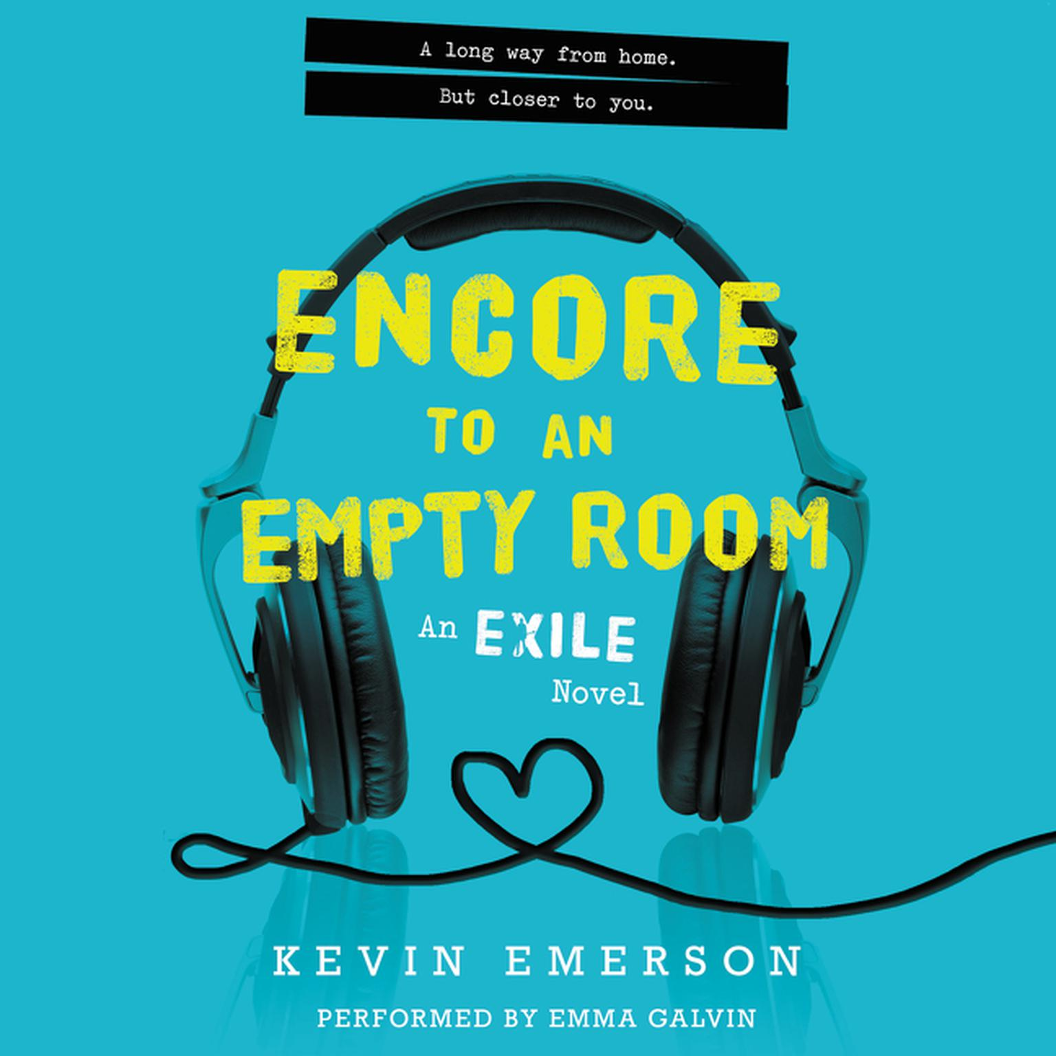 Printable Encore to an Empty Room: An Exile Novel Audiobook Cover Art