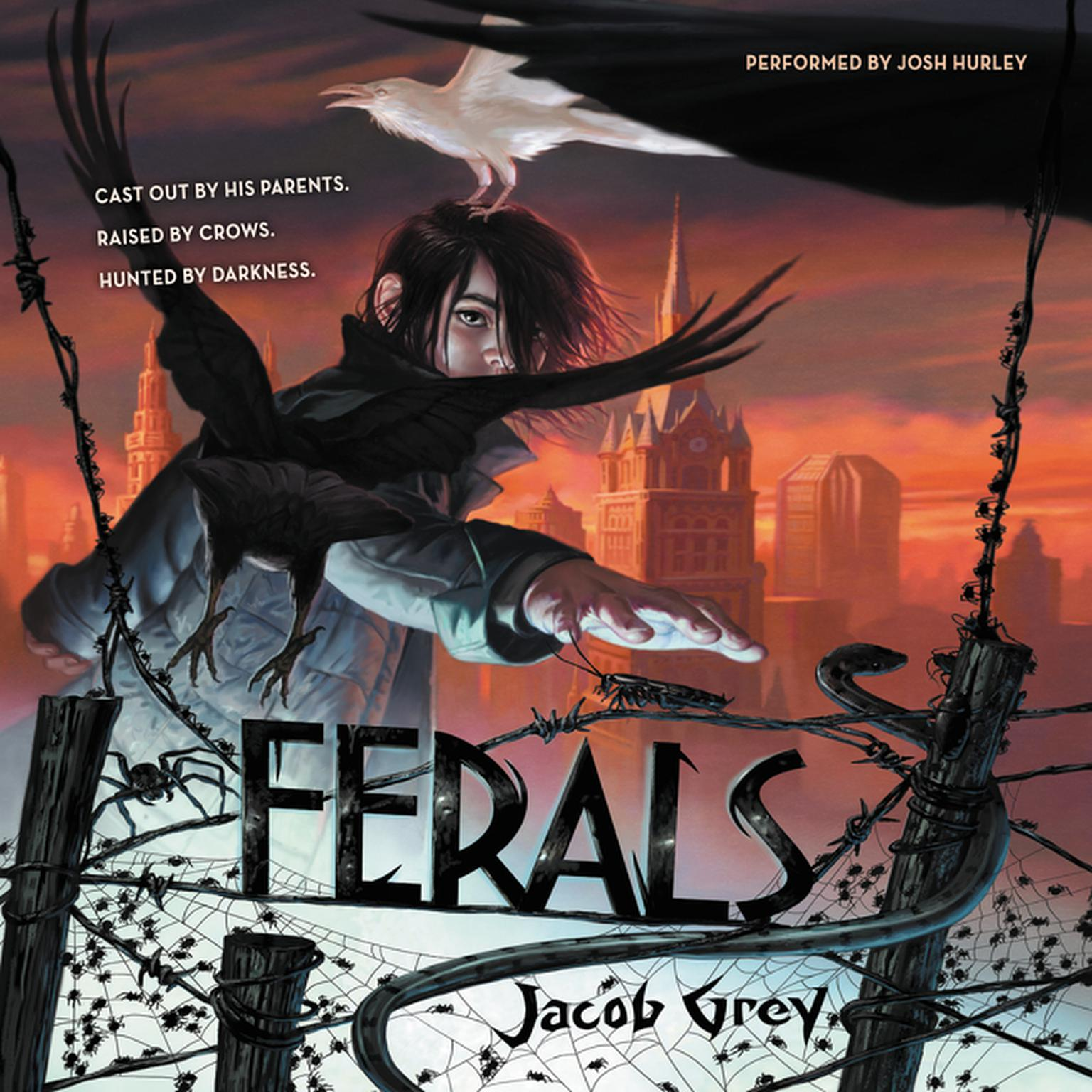 Printable Ferals Audiobook Cover Art