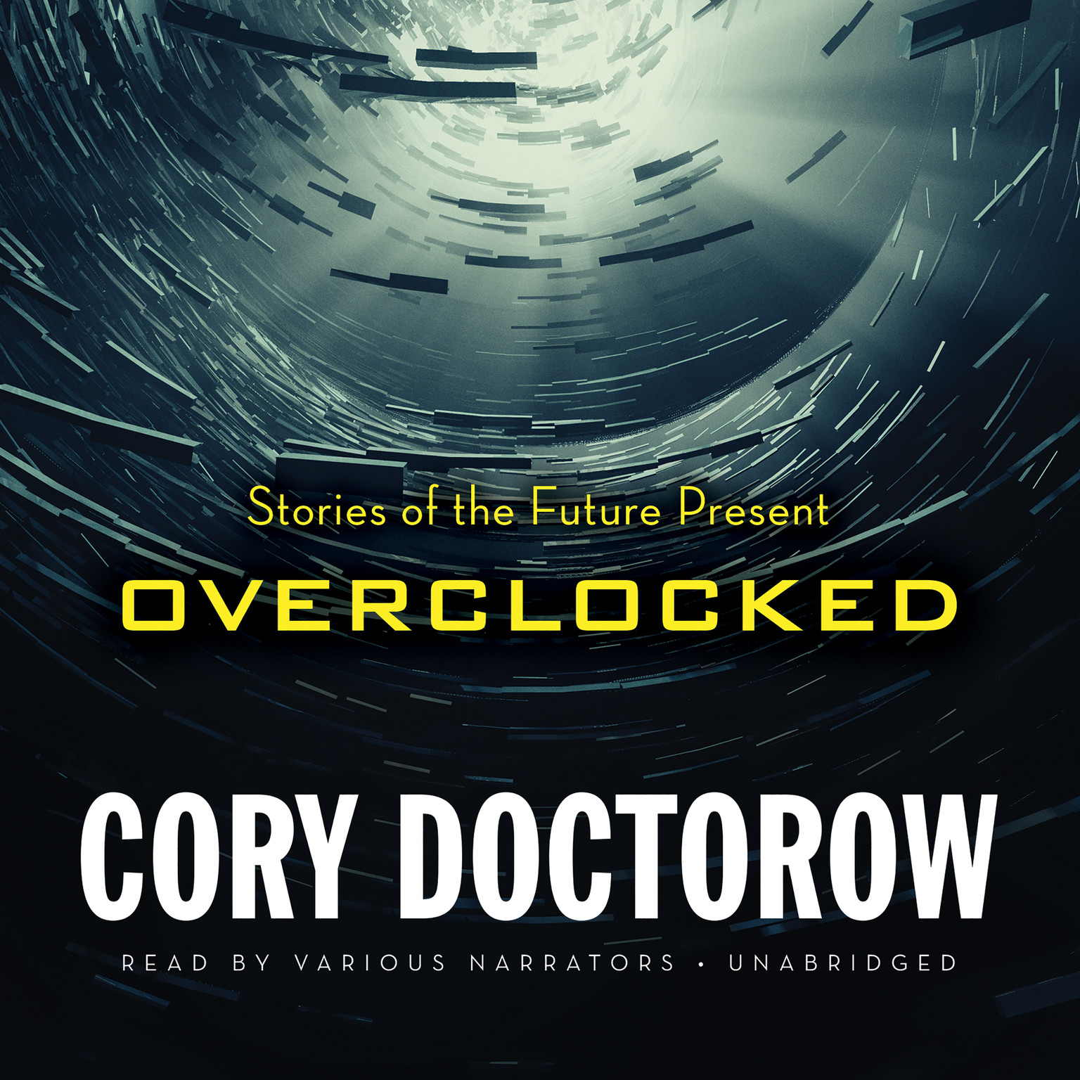 Printable Overclocked : Stories of the Future Present Audiobook Cover Art