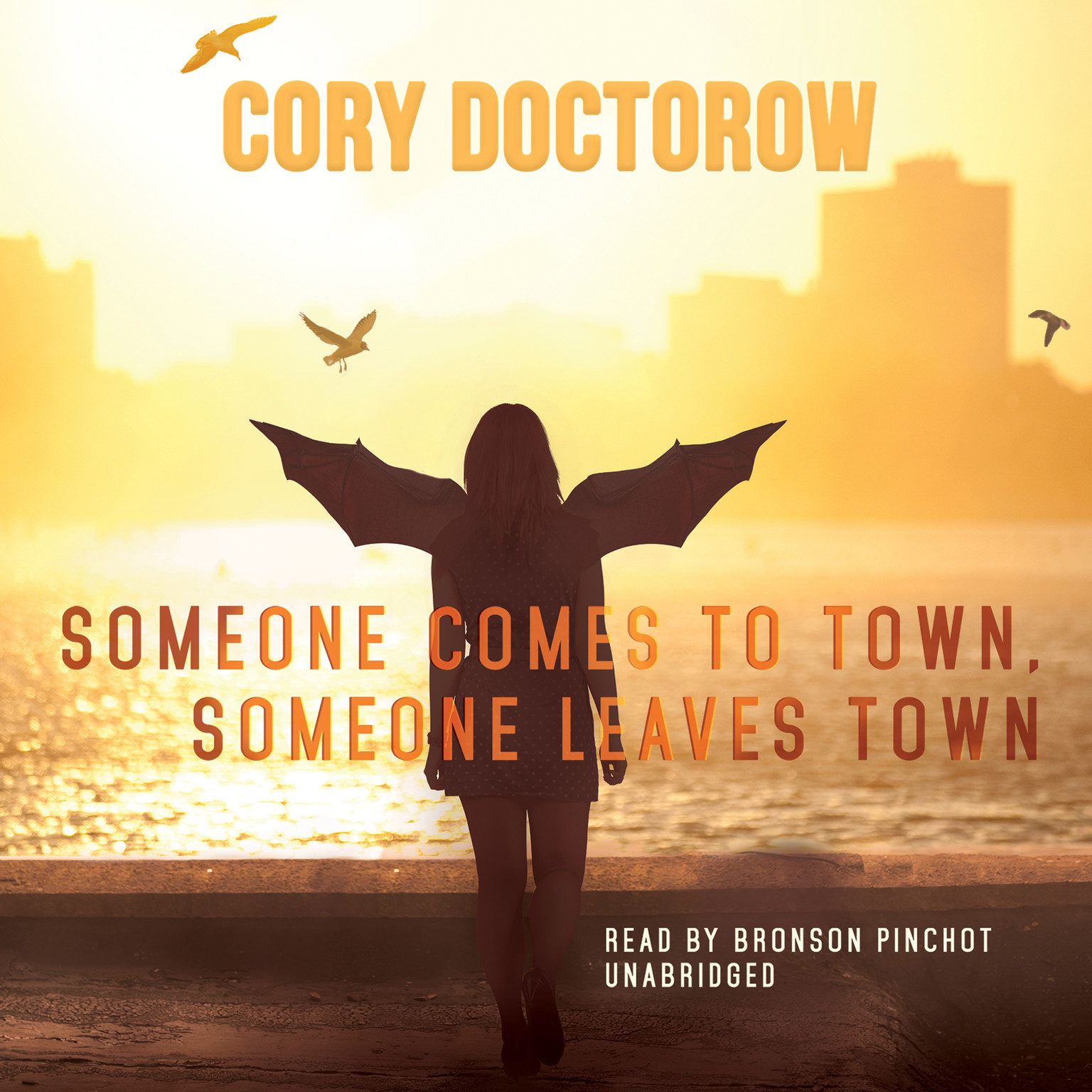 Printable Someone Comes to Town, Someone Leaves Town Audiobook Cover Art