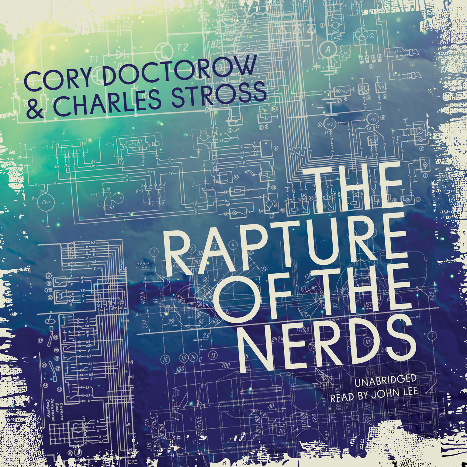 Printable The Rapture of the Nerds Audiobook Cover Art