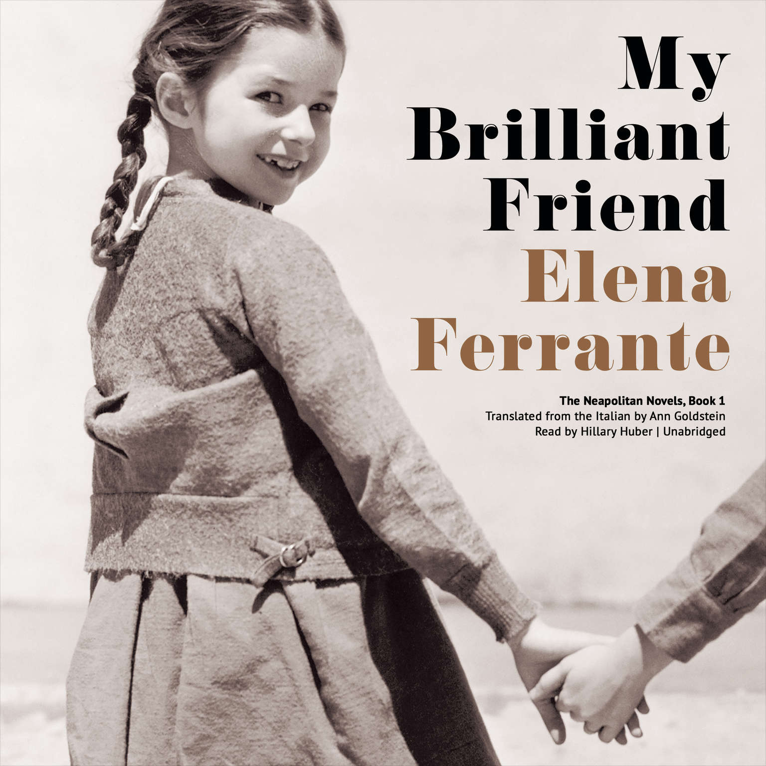 Printable My Brilliant Friend Audiobook Cover Art