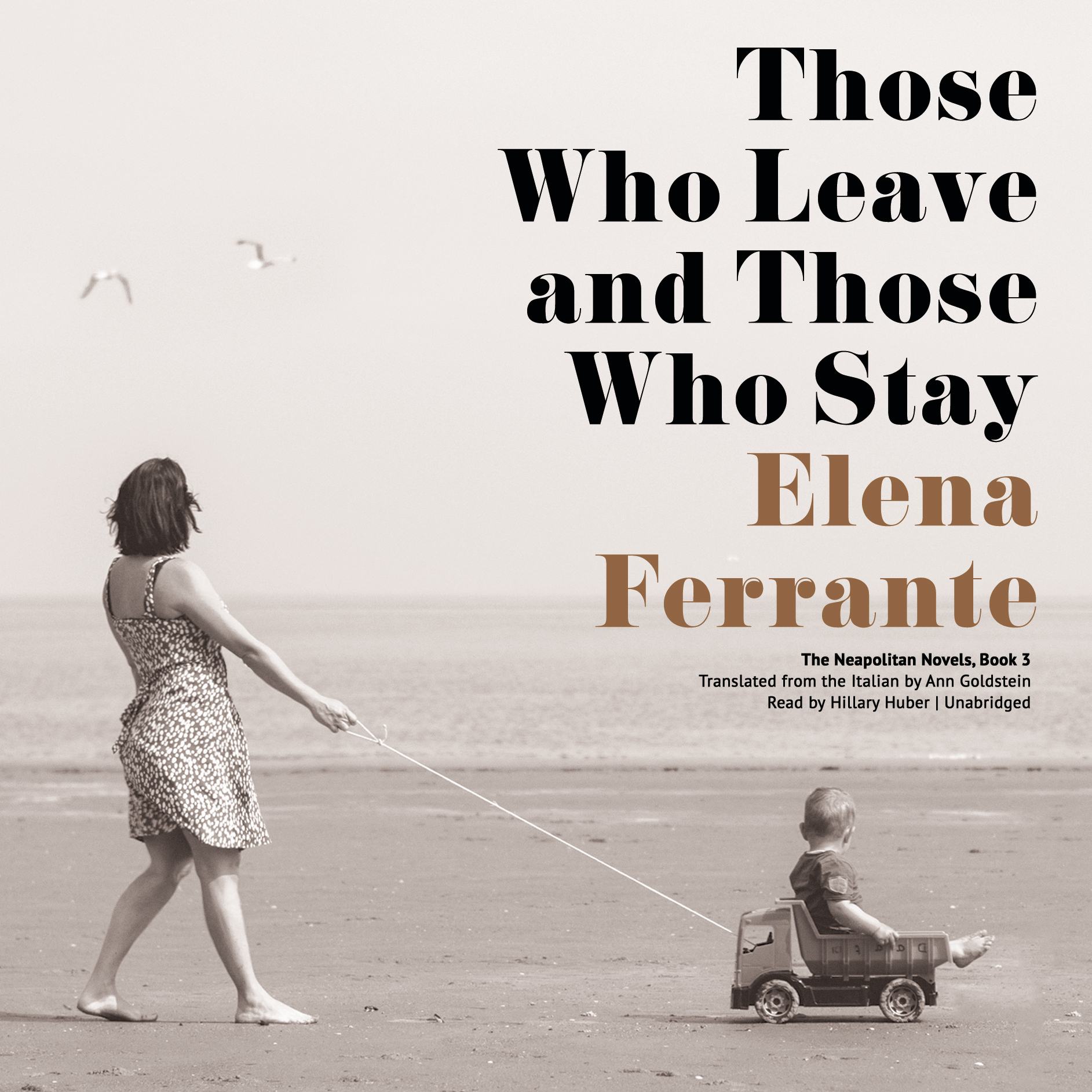 Printable Those Who Leave and Those Who Stay Audiobook Cover Art