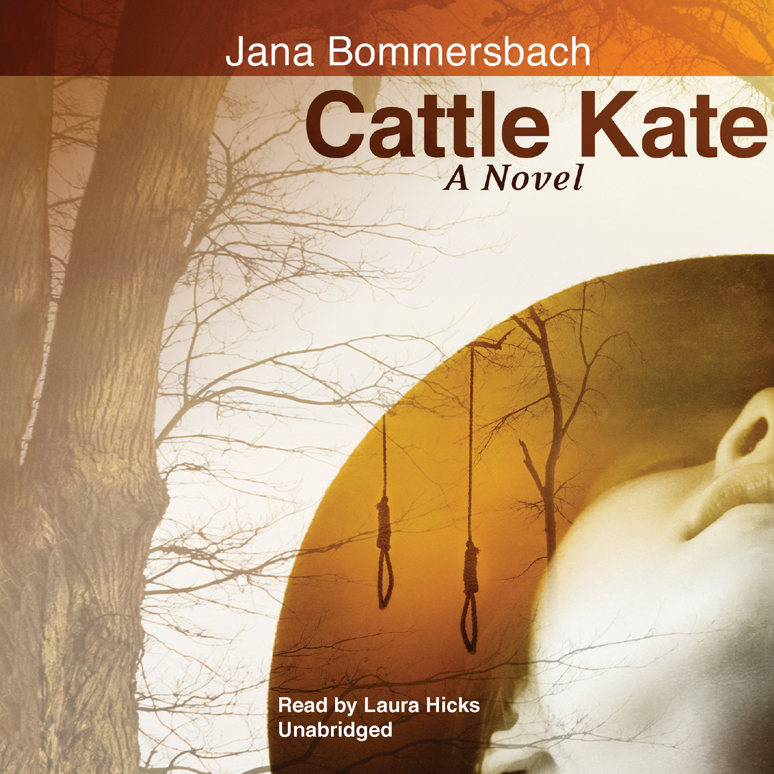 Printable Cattle Kate: A Novel Audiobook Cover Art