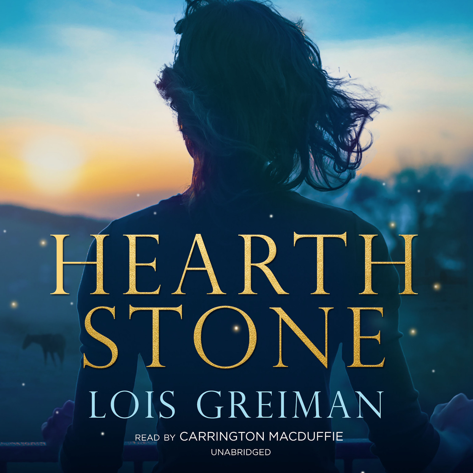 Printable Hearth Stone Audiobook Cover Art