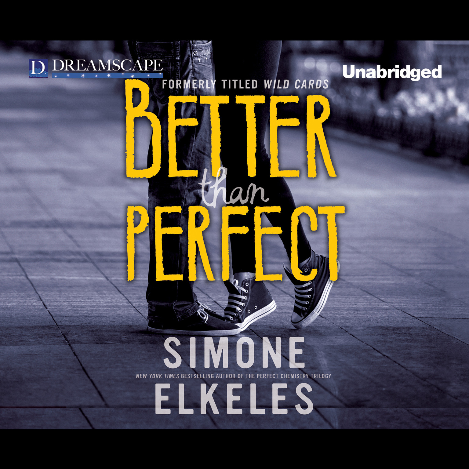 Printable Better Than Perfect: A Wild Cards Novel Audiobook Cover Art