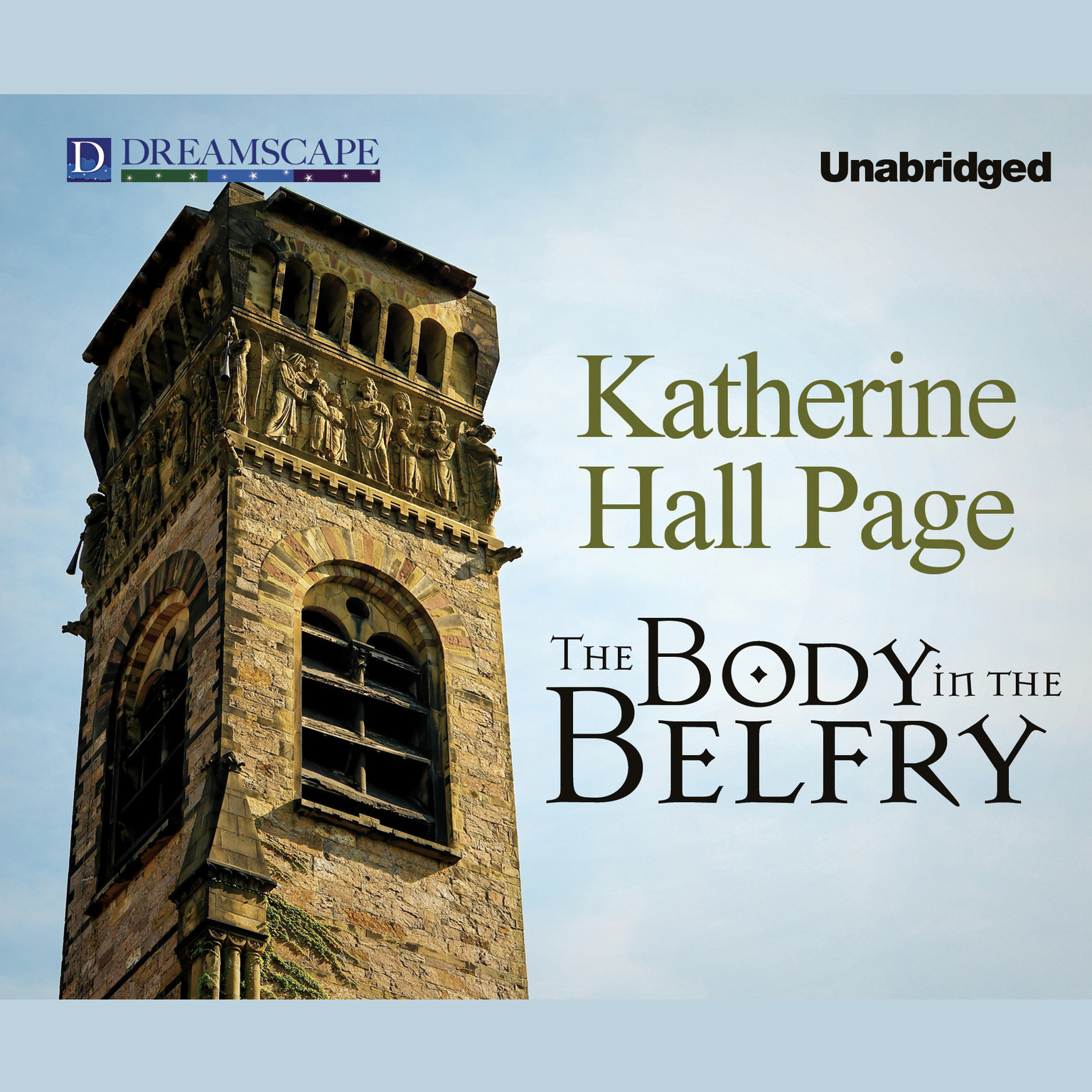 Printable The Body in the Belfry Audiobook Cover Art