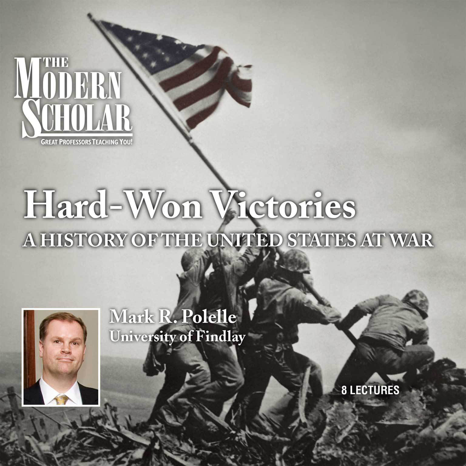 Printable Hard Won Victories: A History of the United States at War Audiobook Cover Art