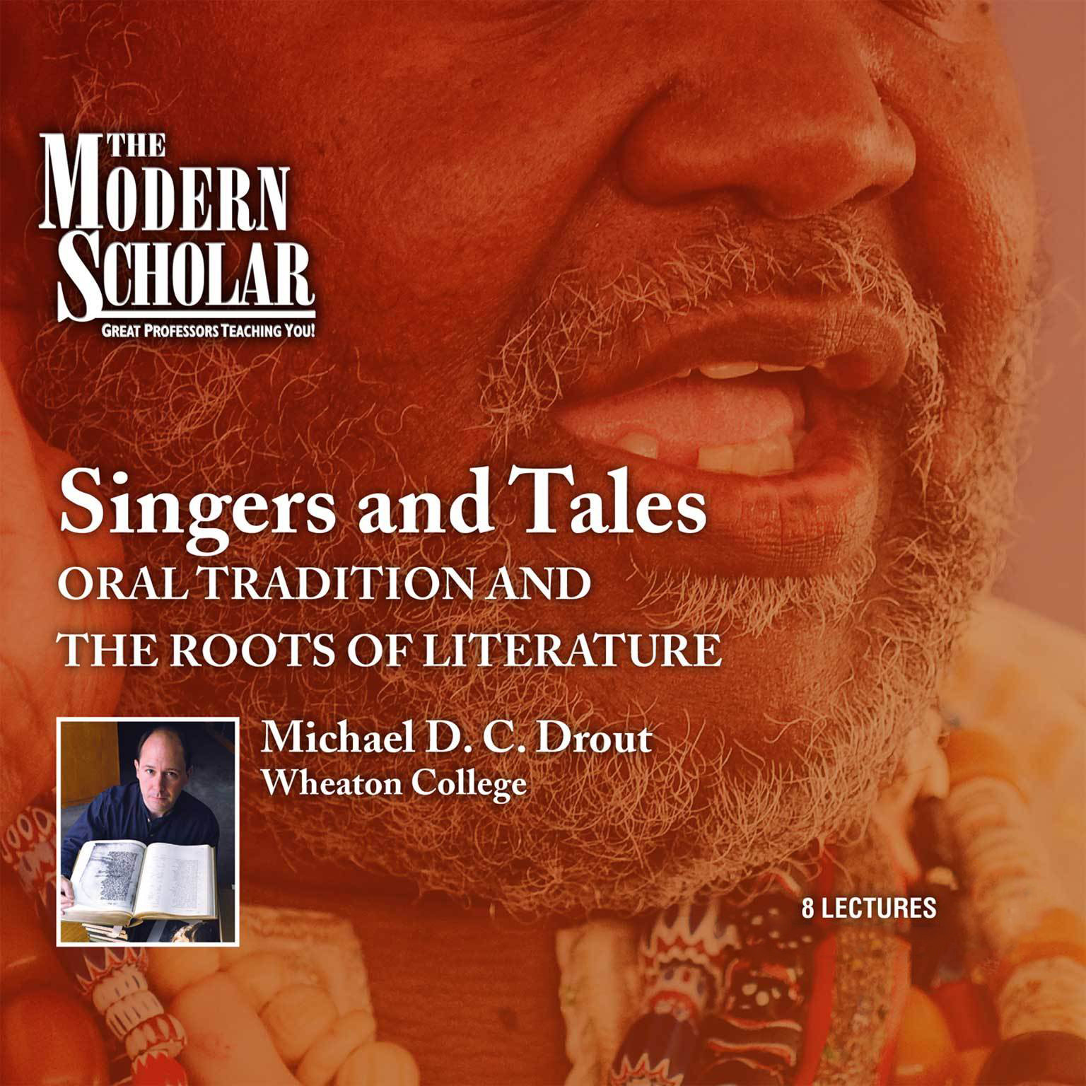 Printable Singers and Tales: Oral Tradition and the Roots of Literature Audiobook Cover Art