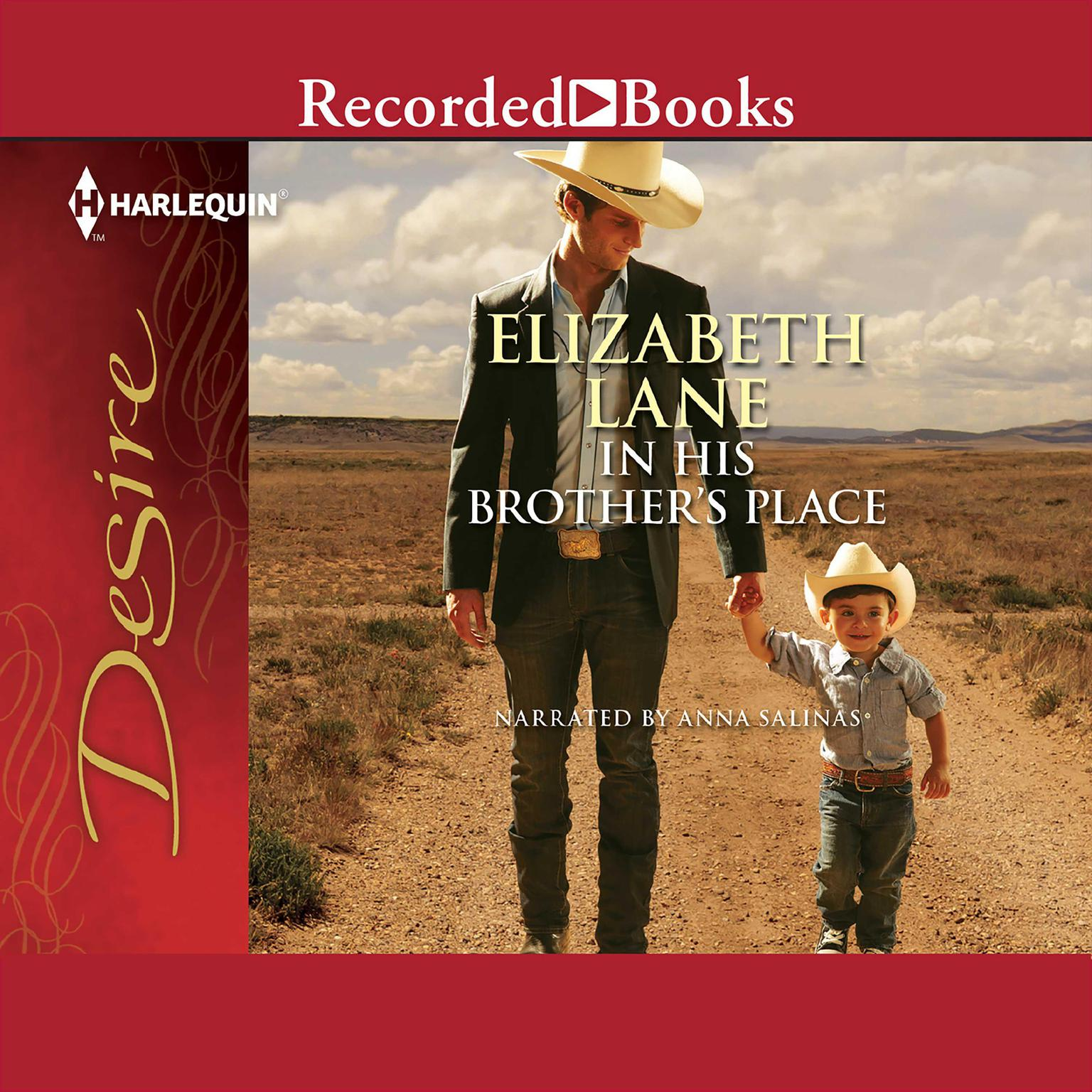 Printable In His Brother's Place Audiobook Cover Art