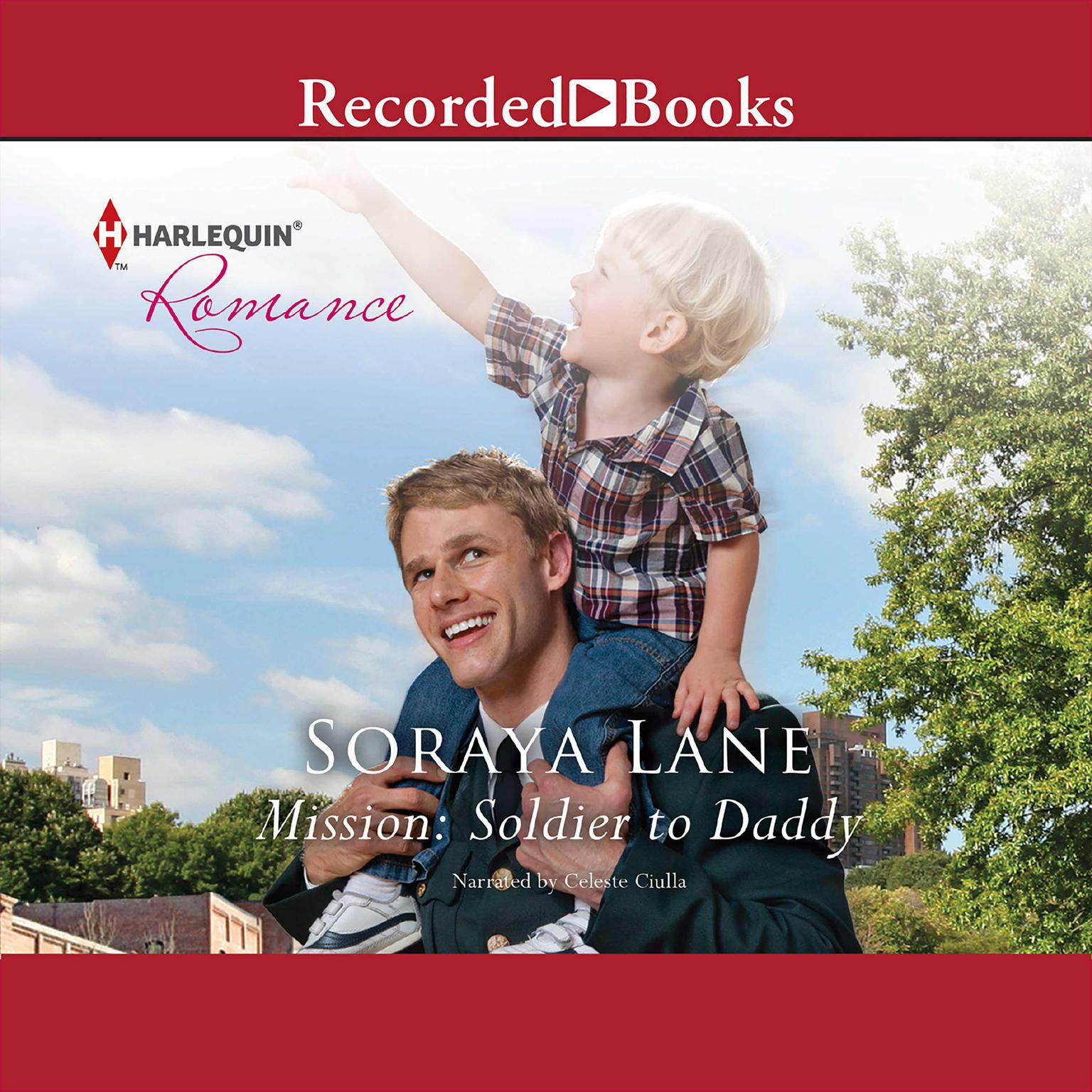 Printable Mission: Soldier to Daddy Audiobook Cover Art
