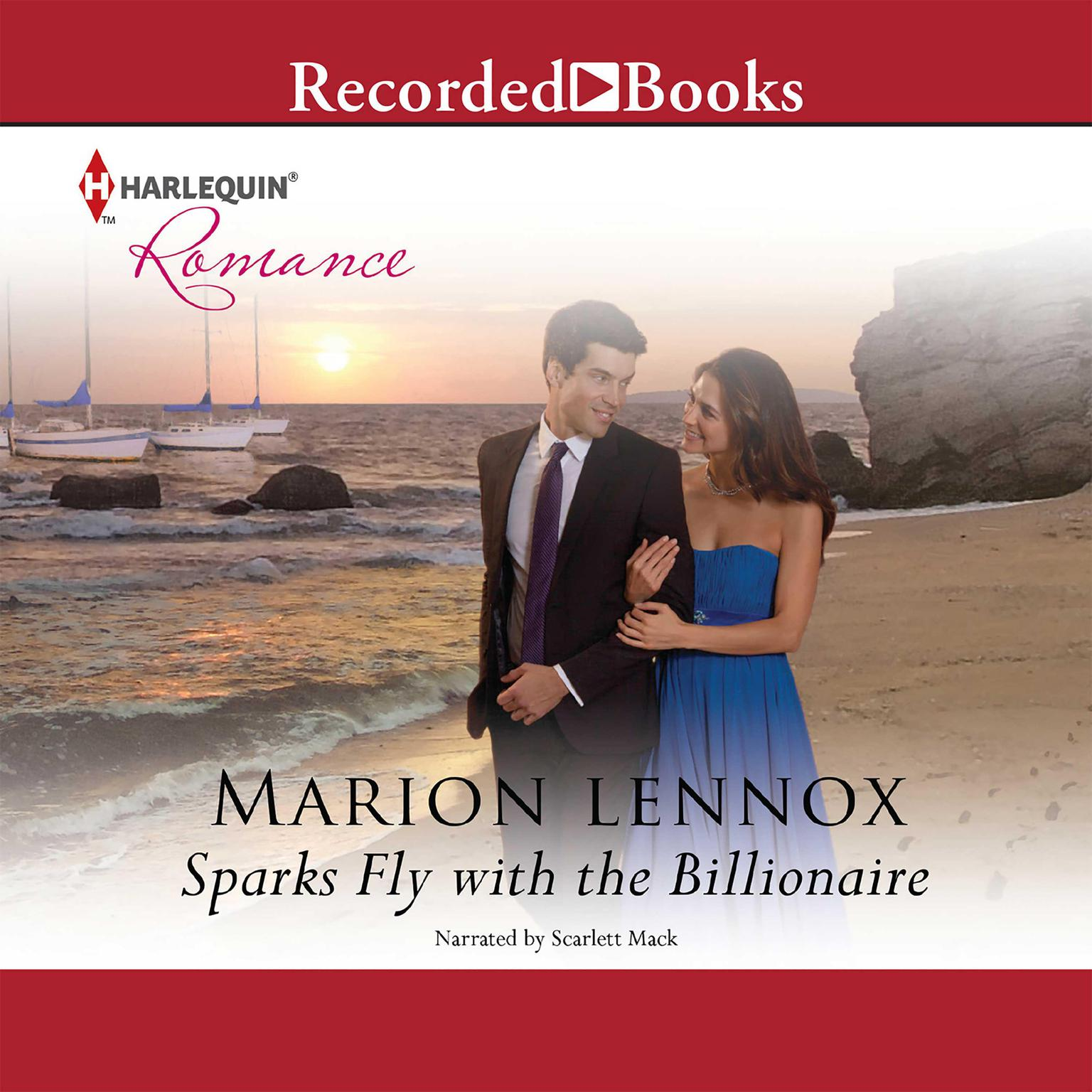 Printable Sparks Fly with the Billionaire Audiobook Cover Art