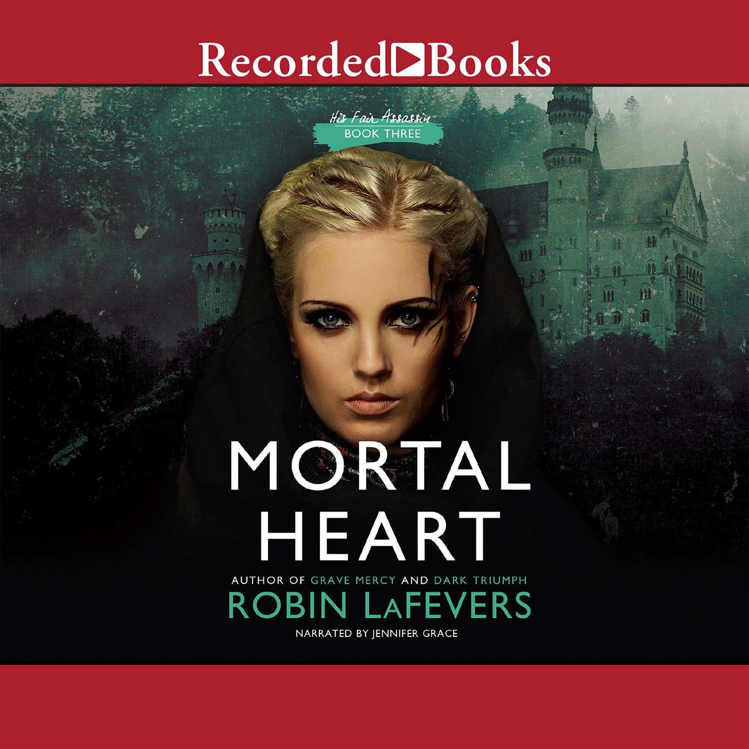 Printable Mortal Heart Audiobook Cover Art