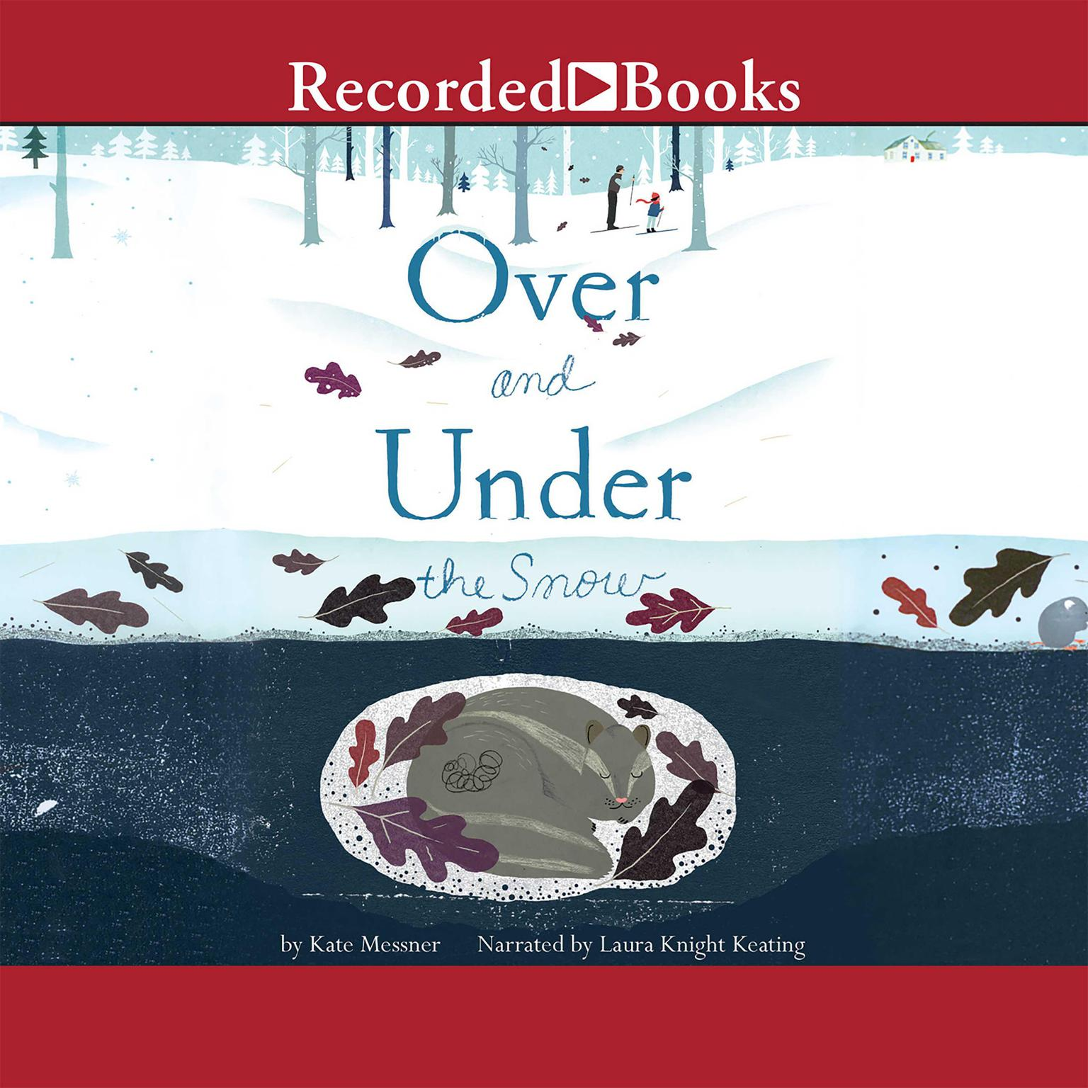 Printable Over and Under the Snow Audiobook Cover Art