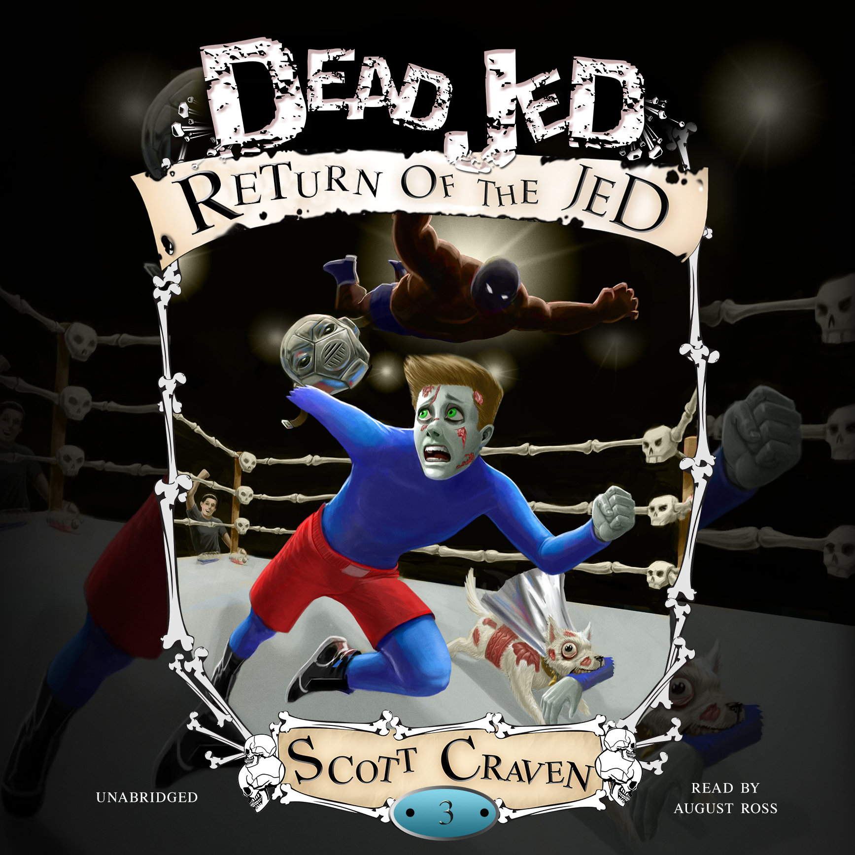 Printable Dead Jed 3: Return of the Jed Audiobook Cover Art