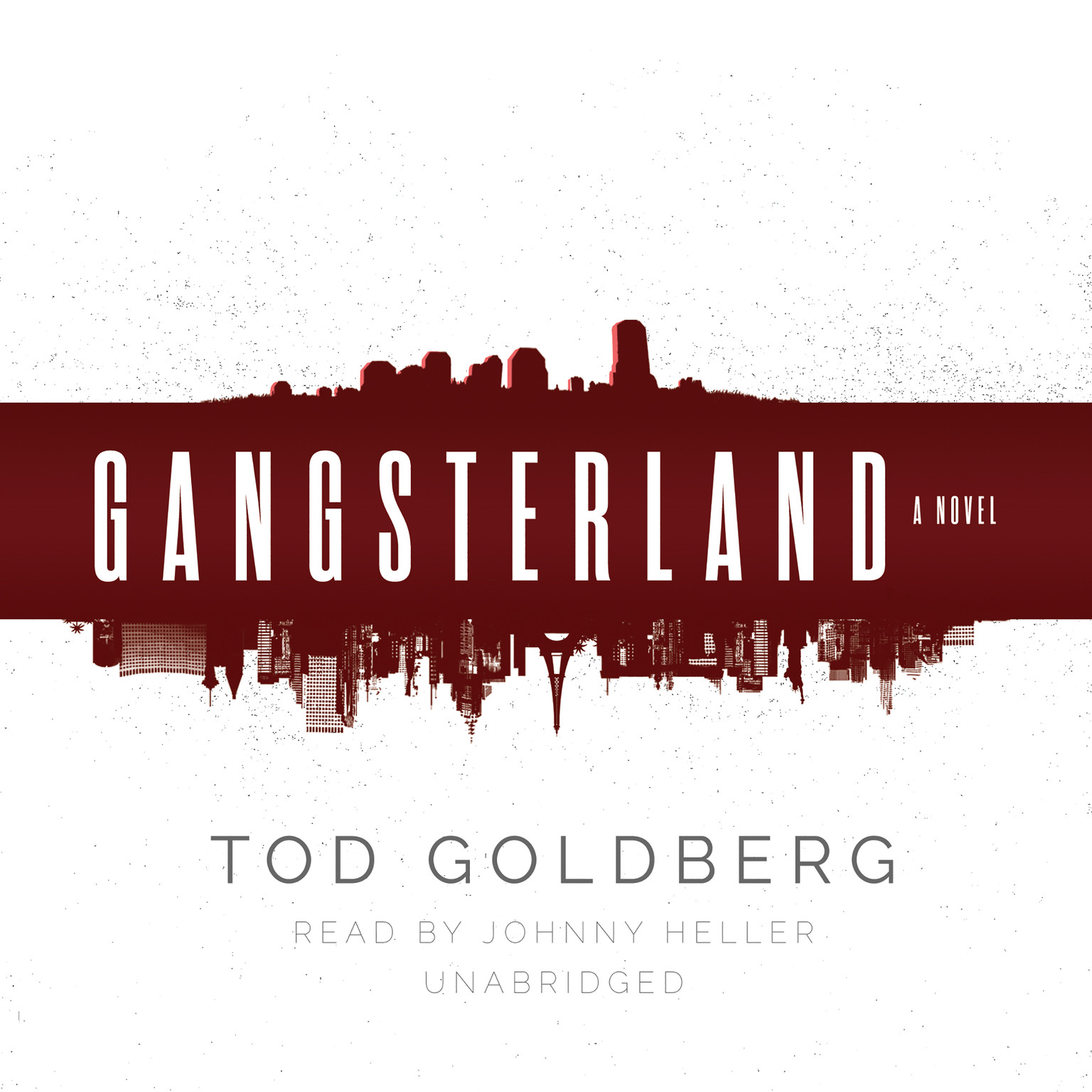 Printable Gangsterland: A Novel Audiobook Cover Art