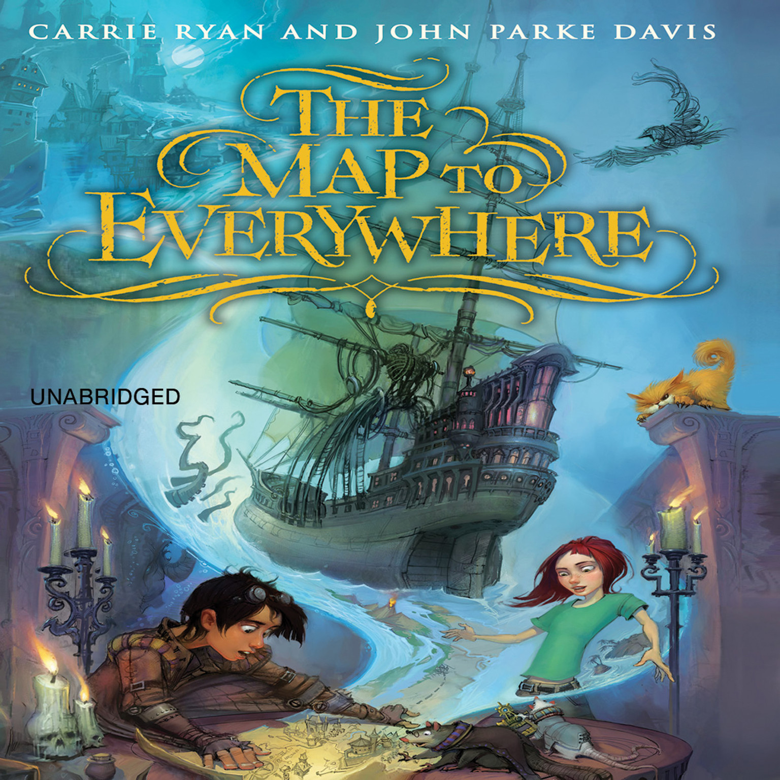 Printable The Map to Everywhere Audiobook Cover Art