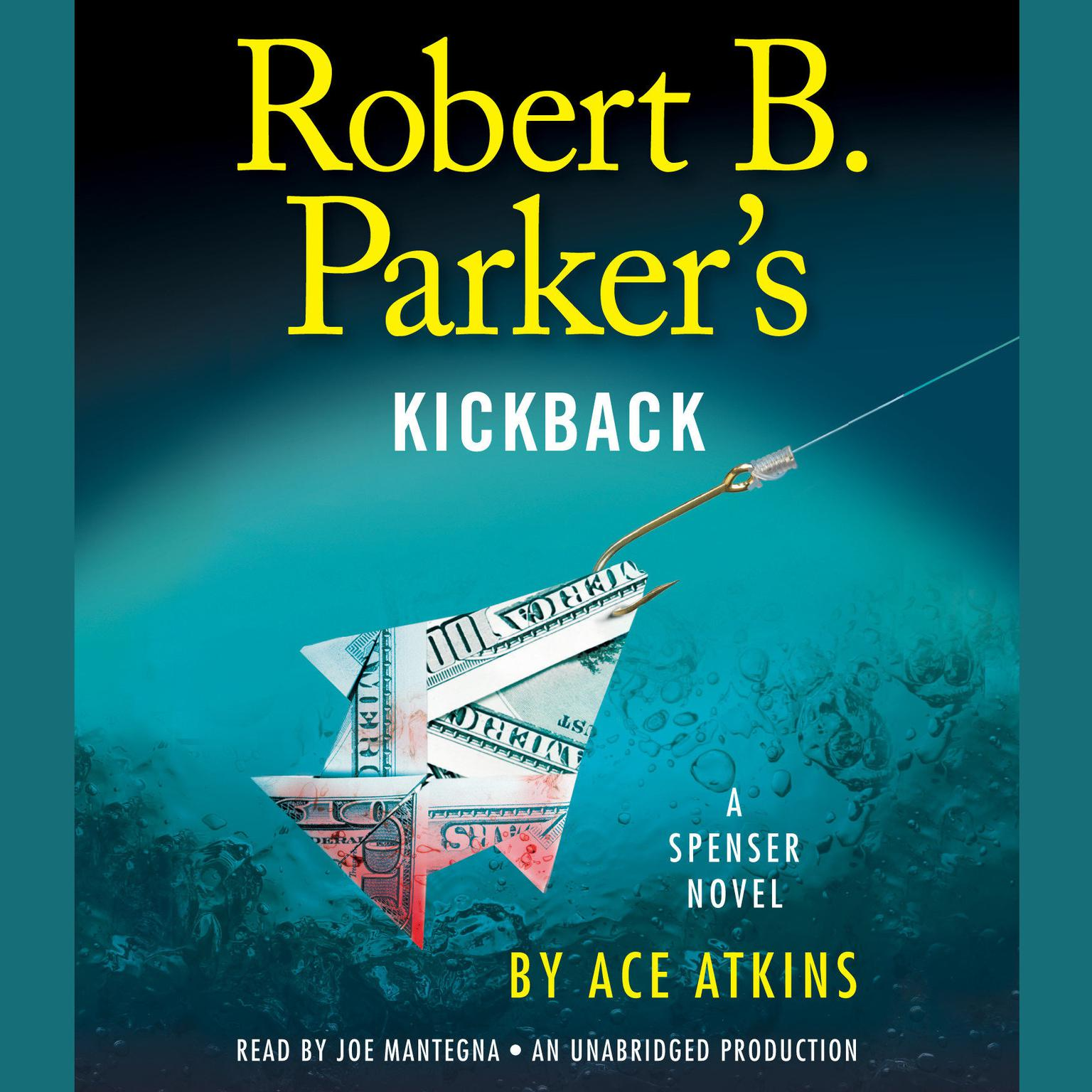 Printable Robert B. Parker's Kickback Audiobook Cover Art