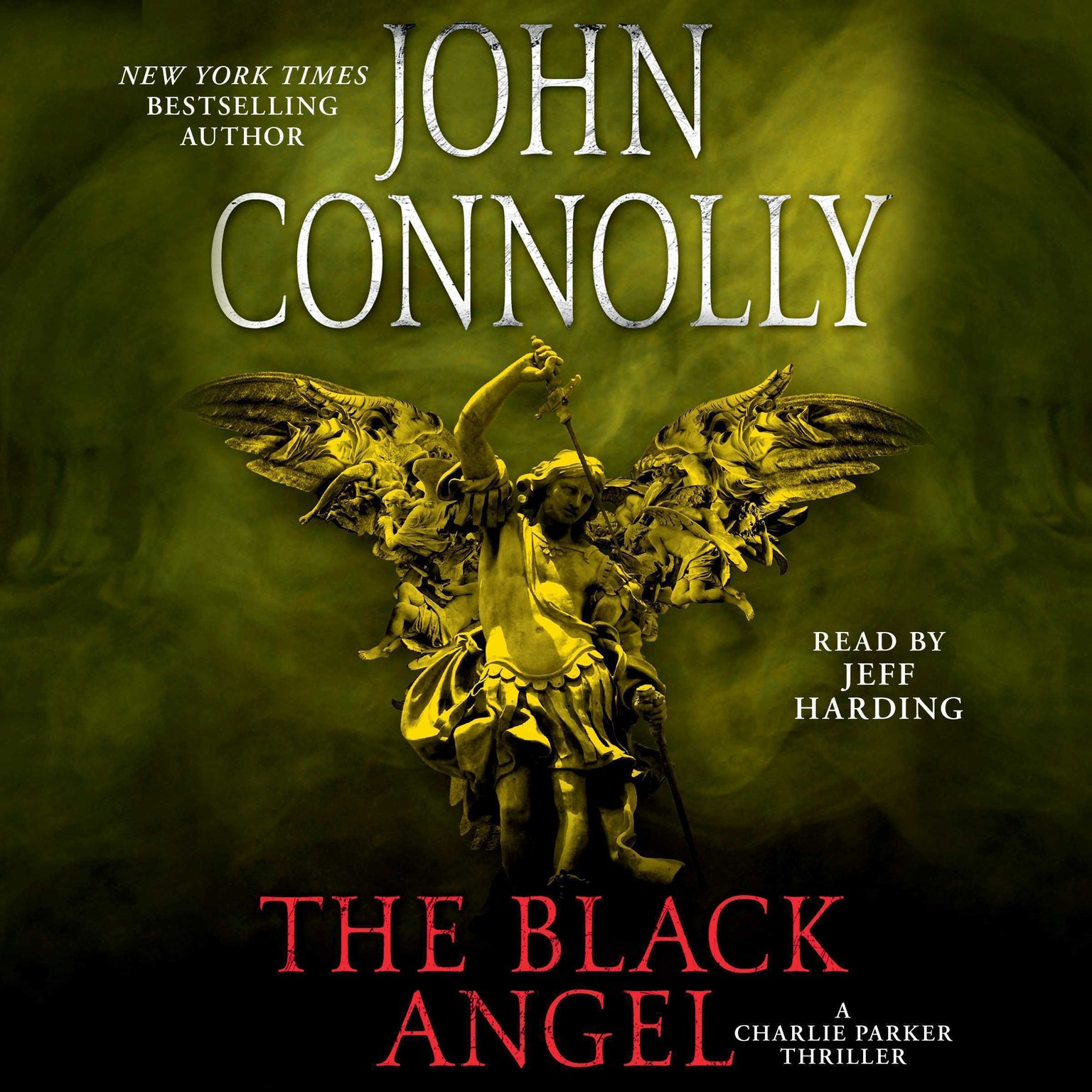 Printable The Black Angel: A Thriller Audiobook Cover Art