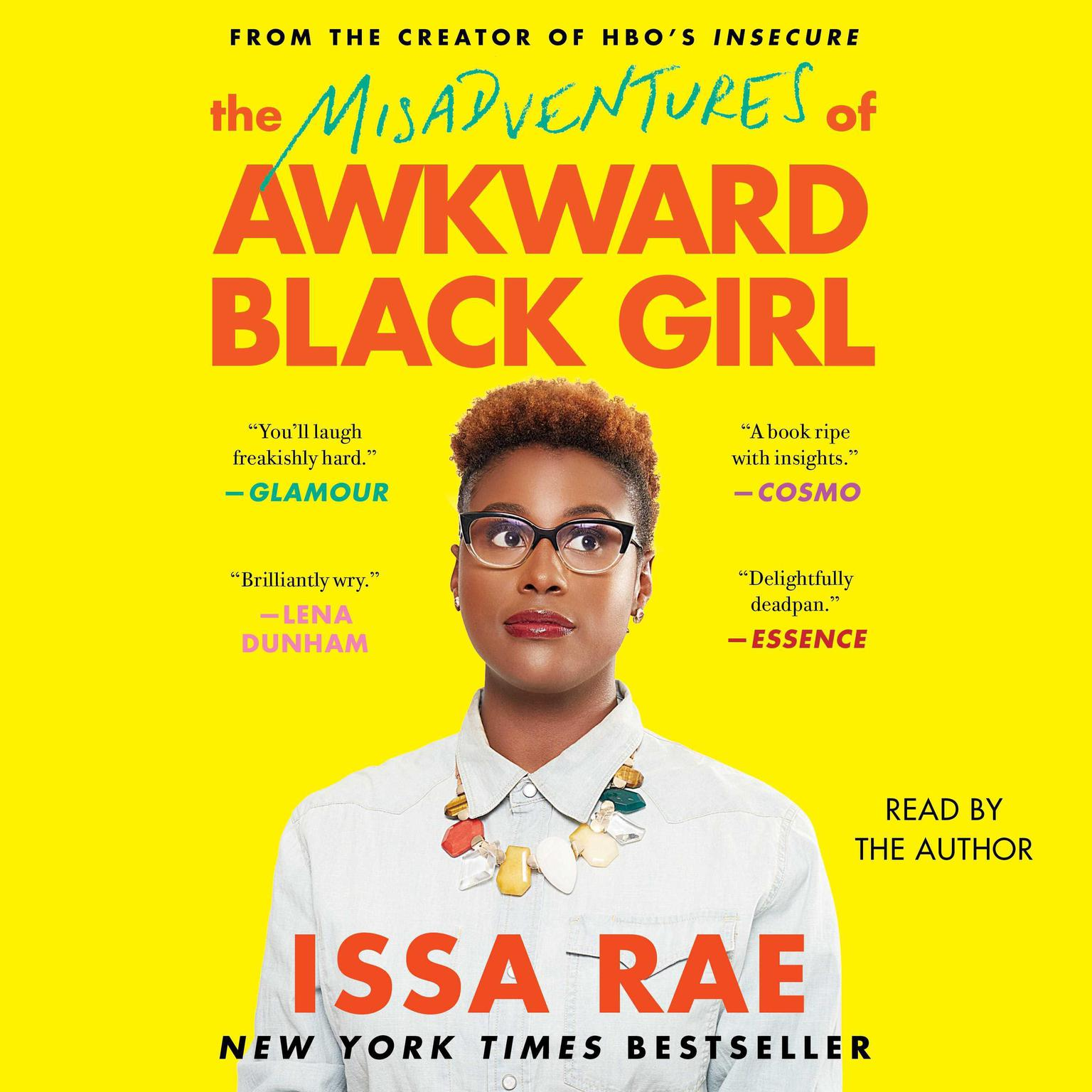 Printable The Misadventures of Awkward Black Girl Audiobook Cover Art