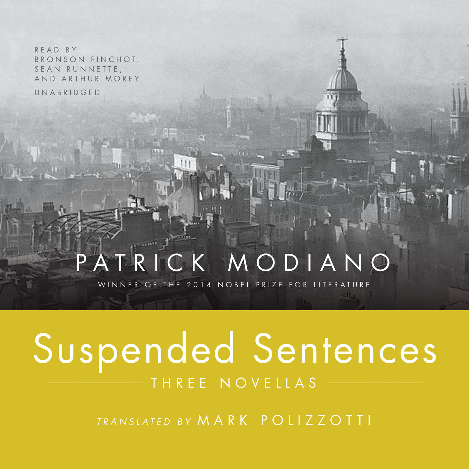 Printable Suspended Sentences: Three Novellas Audiobook Cover Art