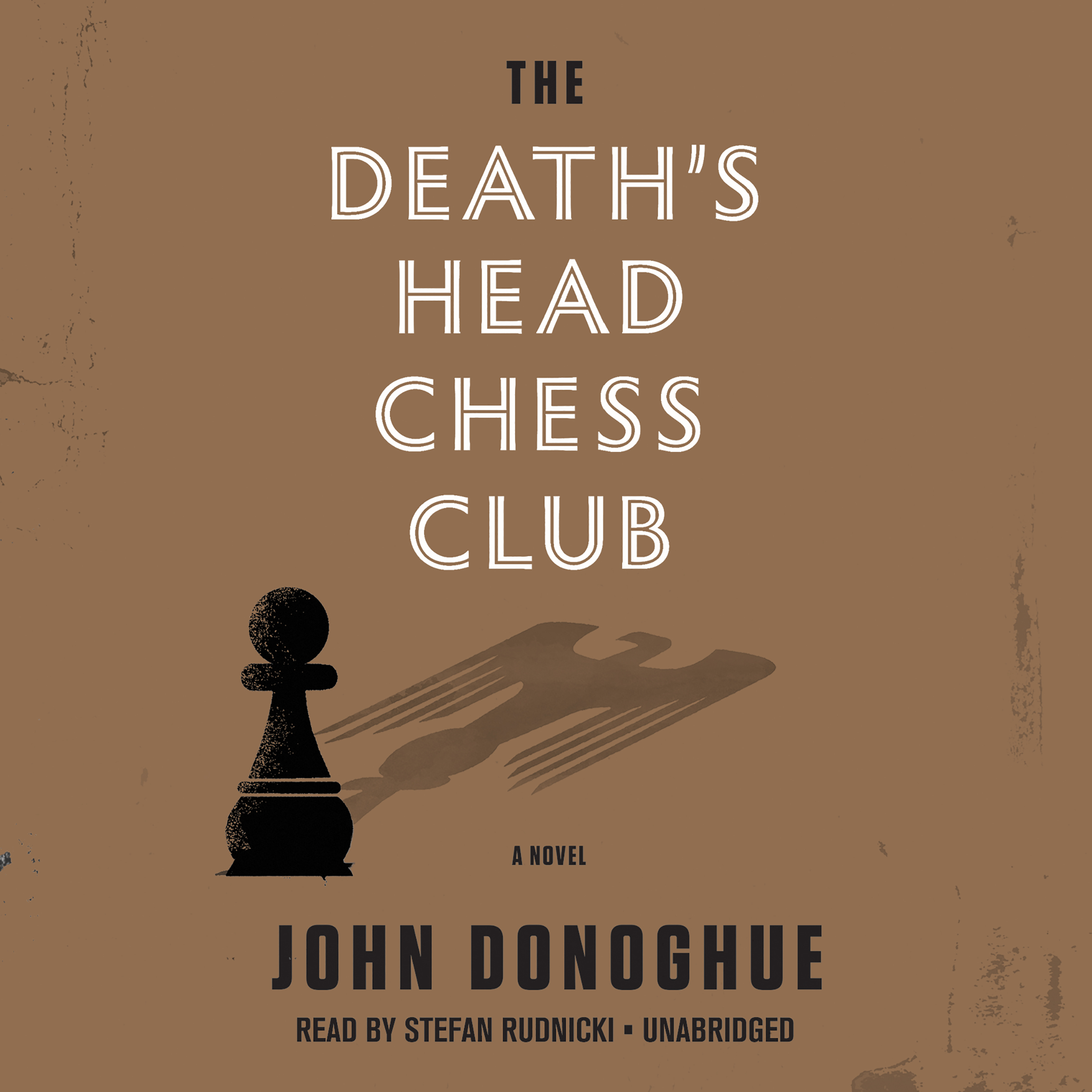 Printable The Death's Head Chess Club Audiobook Cover Art