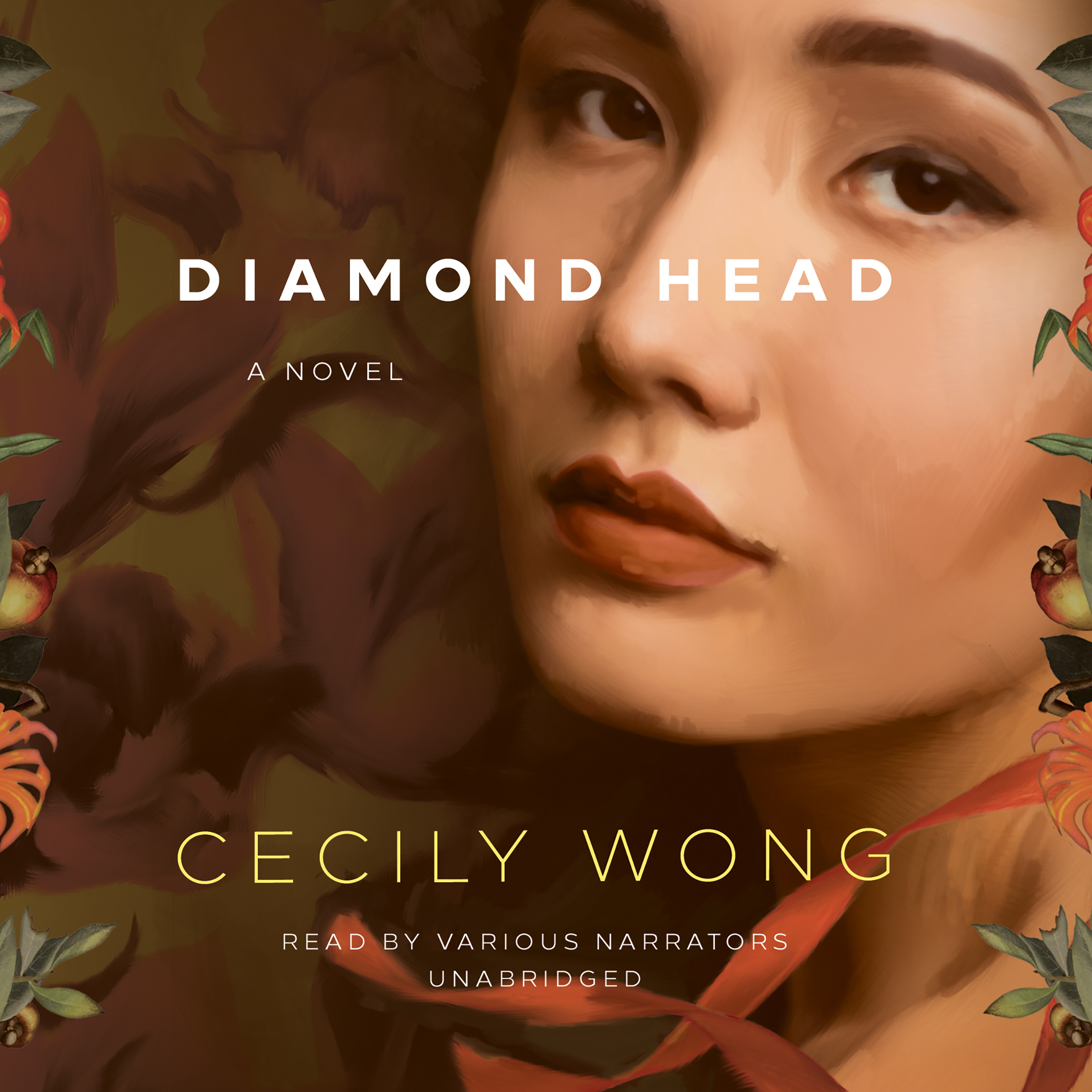 Printable Diamond Head: A Novel Audiobook Cover Art