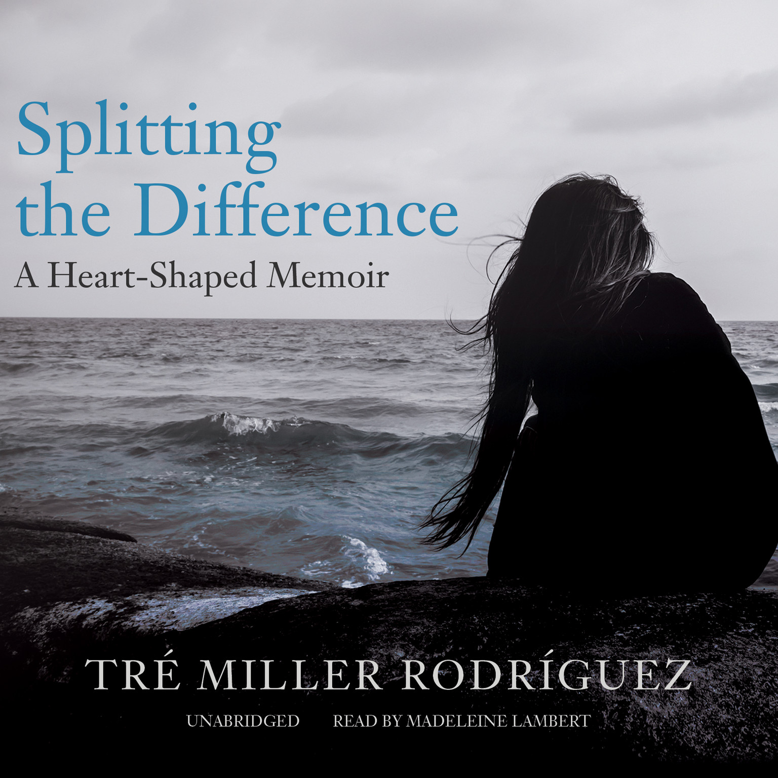 Printable Splitting the Difference: A Heart-Shaped Memoir Audiobook Cover Art