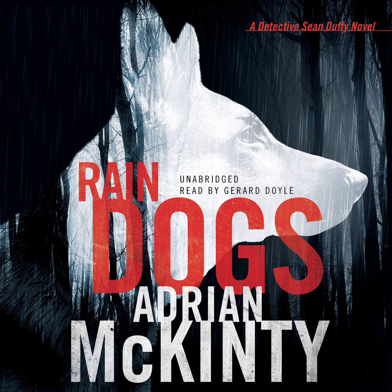 Printable Rain Dogs: A Detective Sean Duffy Novel Audiobook Cover Art