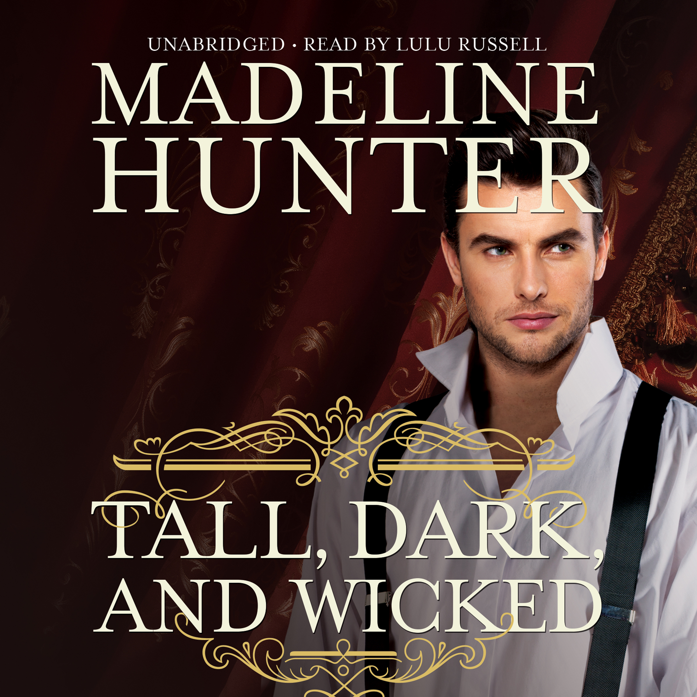Printable Tall, Dark, and Wicked Audiobook Cover Art