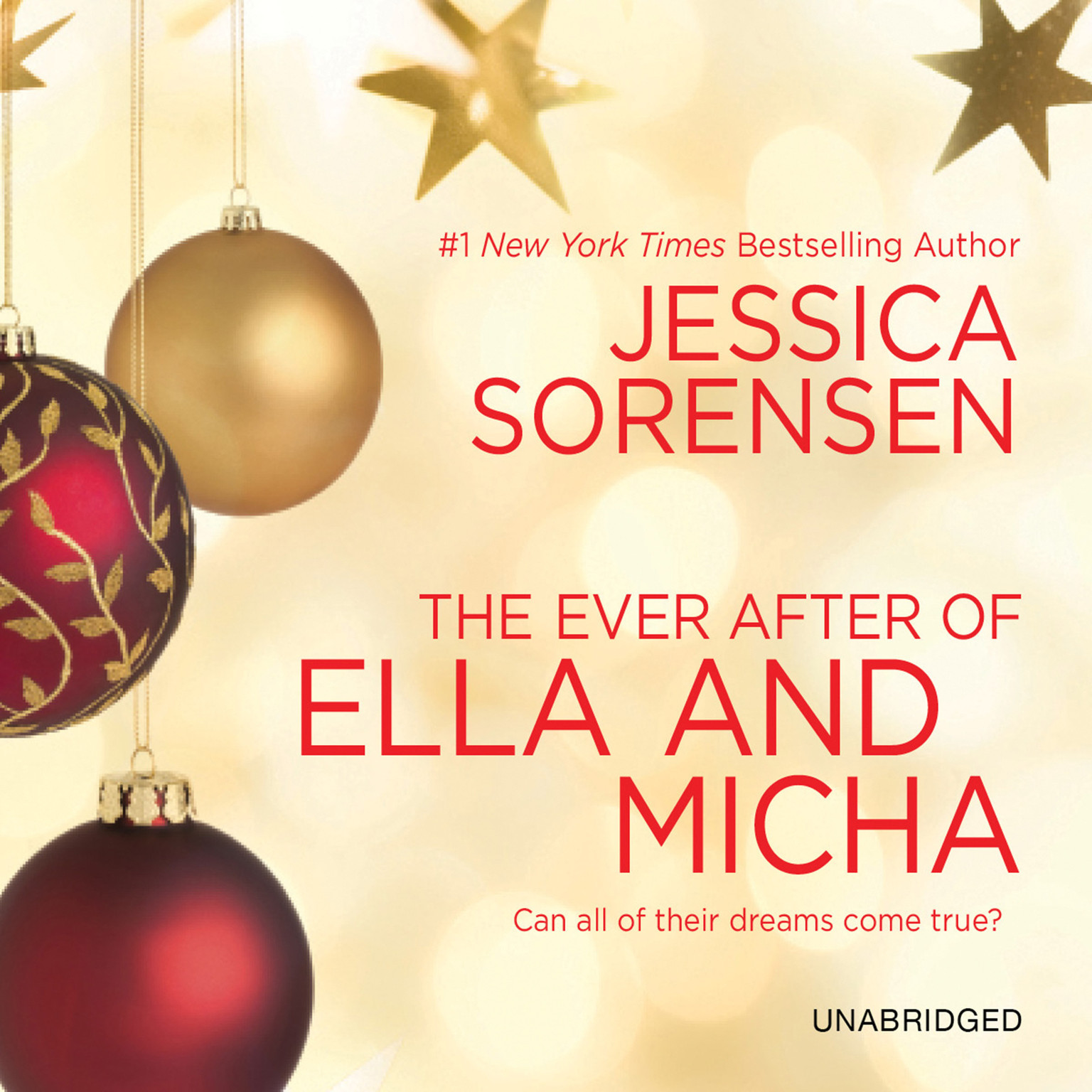 Printable The Ever After of Ella and Micha Audiobook Cover Art
