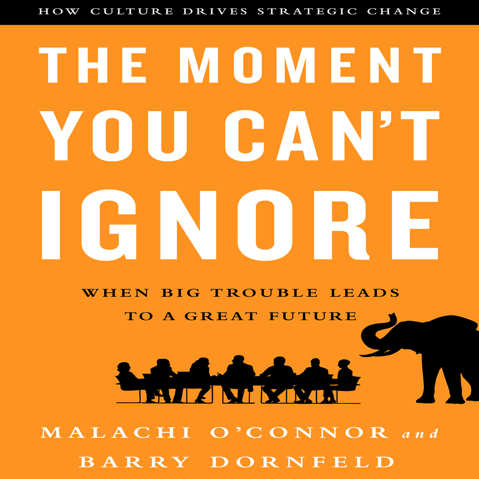 Printable The Moment You Can't Ignore: When Big Trouble Leads to a Great Future Audiobook Cover Art