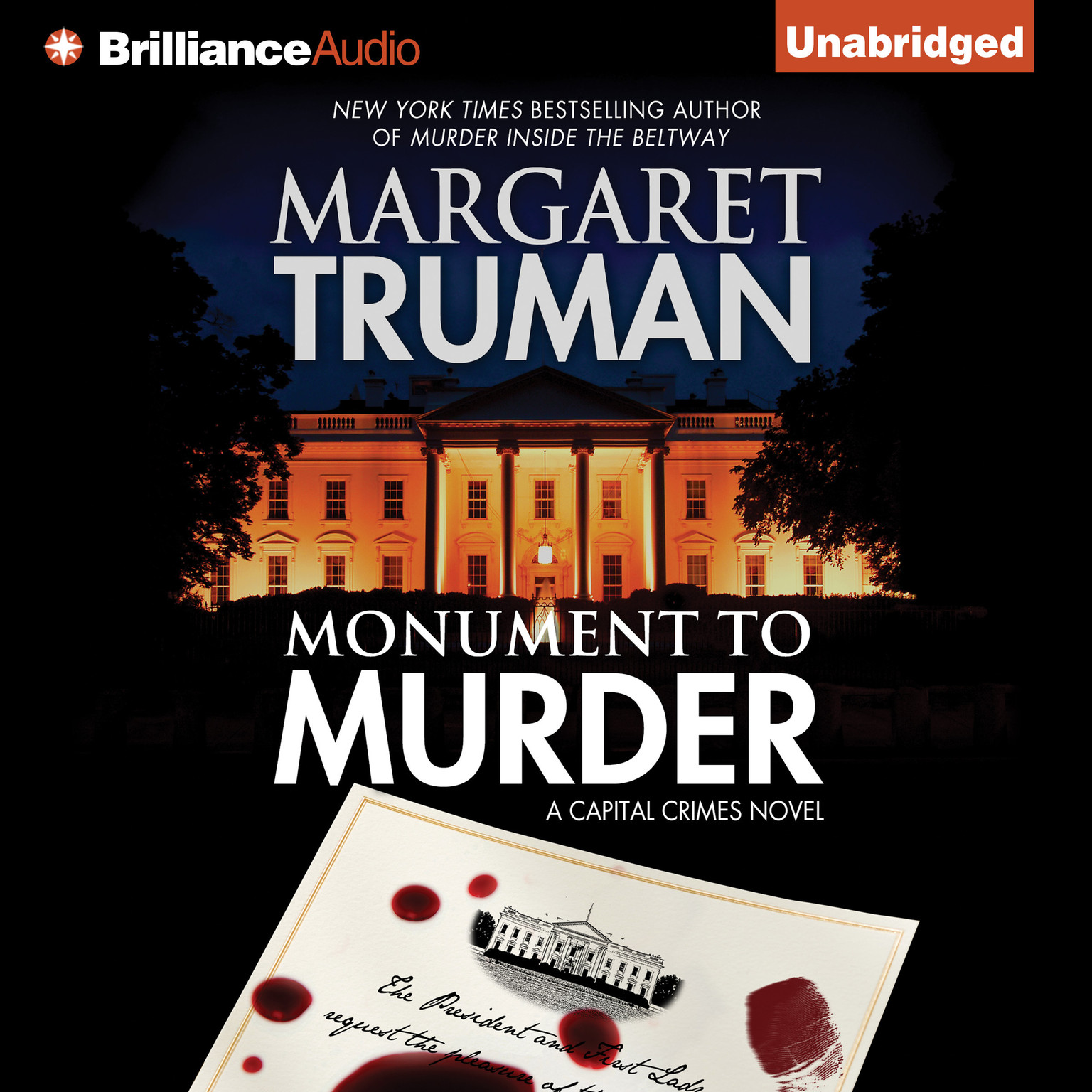 Printable Monument to Murder: A Capital Crimes Novel Audiobook Cover Art