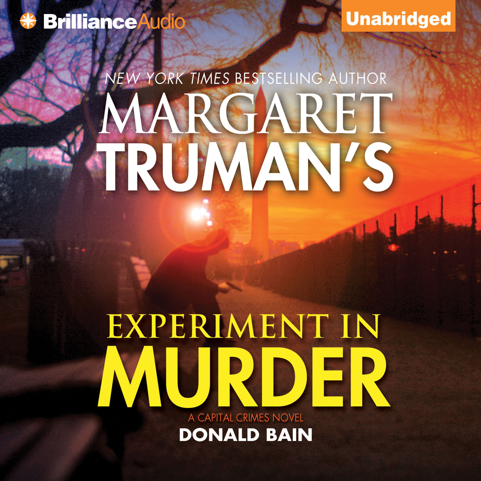 Printable Experiment in Murder Audiobook Cover Art
