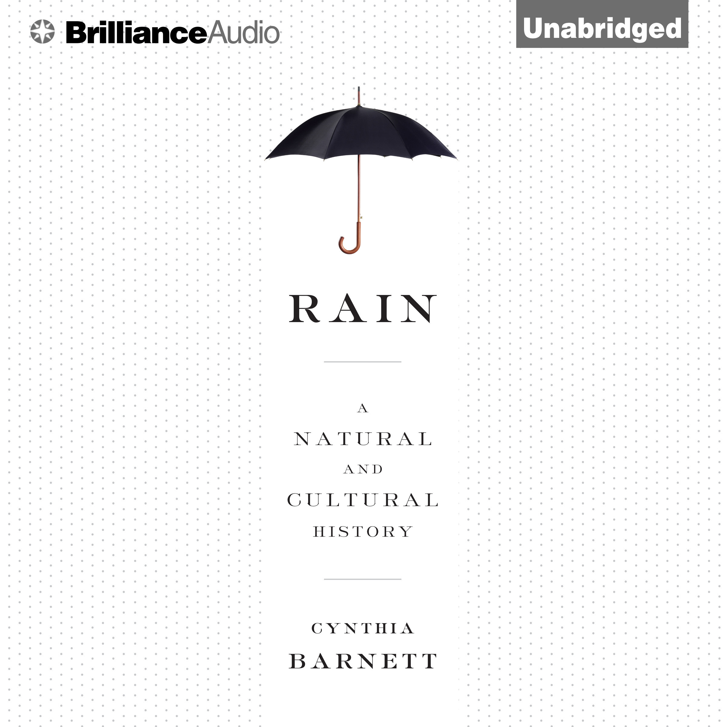 Printable Rain: A Natural and Cultural History Audiobook Cover Art