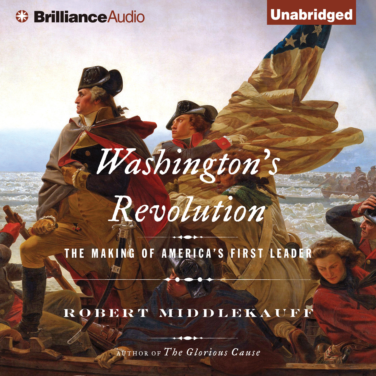Printable Washington's Revolution: The Making of America's First Leader Audiobook Cover Art