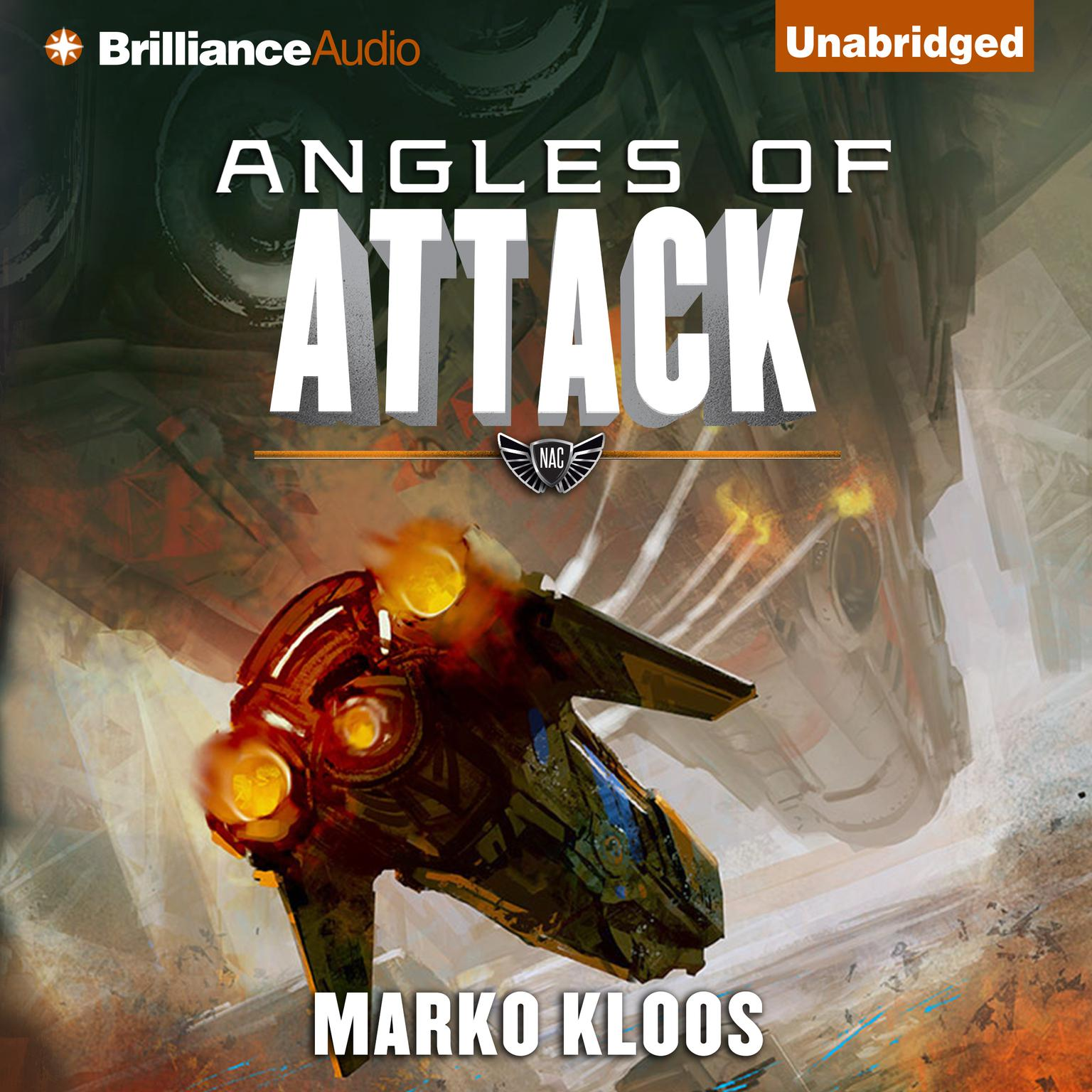 Printable Angles of Attack Audiobook Cover Art