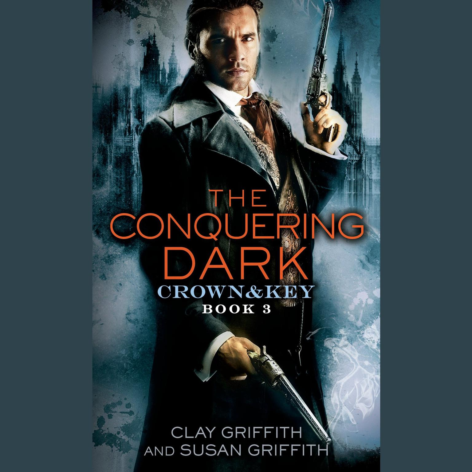 Printable The Conquering Dark: Crown & Key Audiobook Cover Art