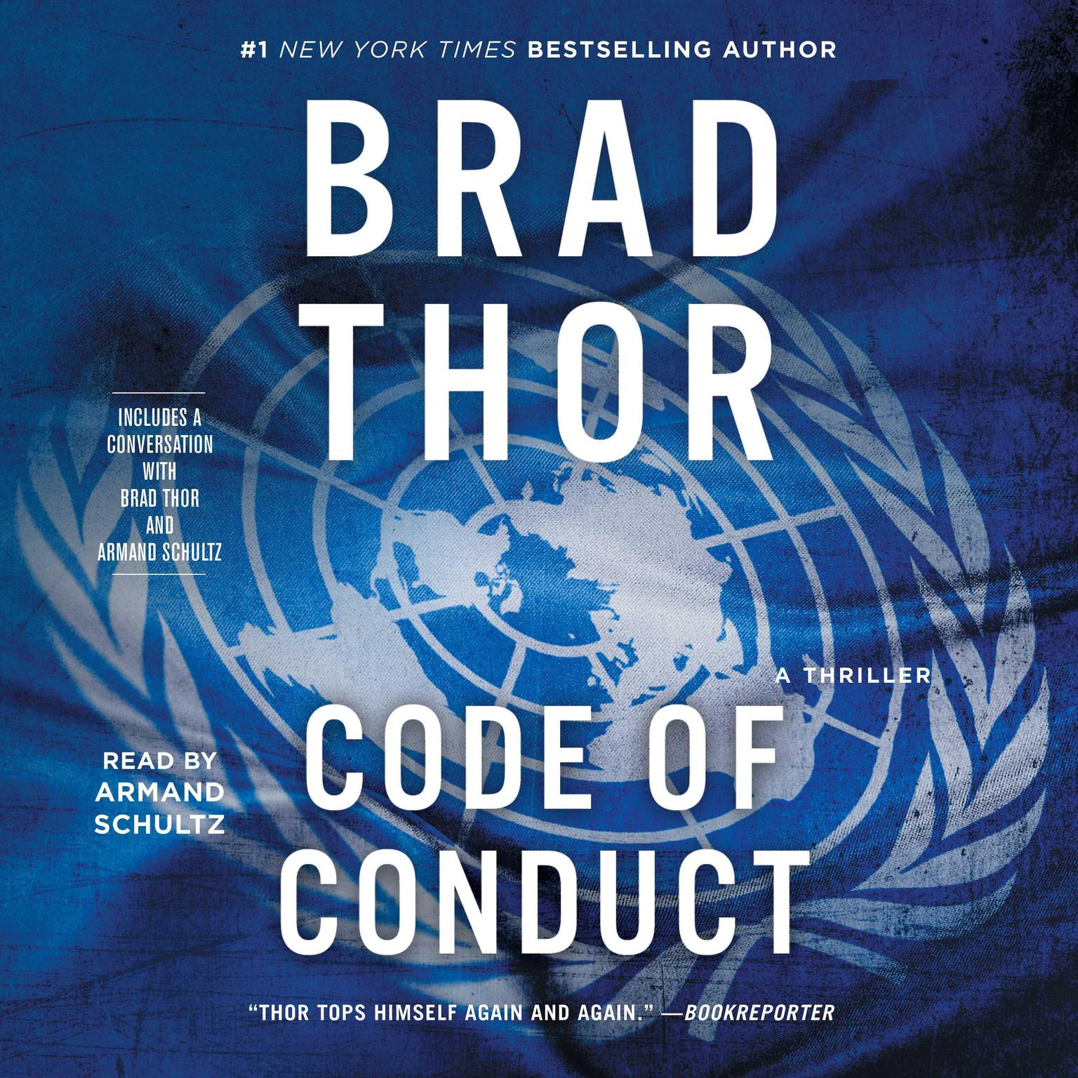 Printable Code of Conduct: A Thriller Audiobook Cover Art