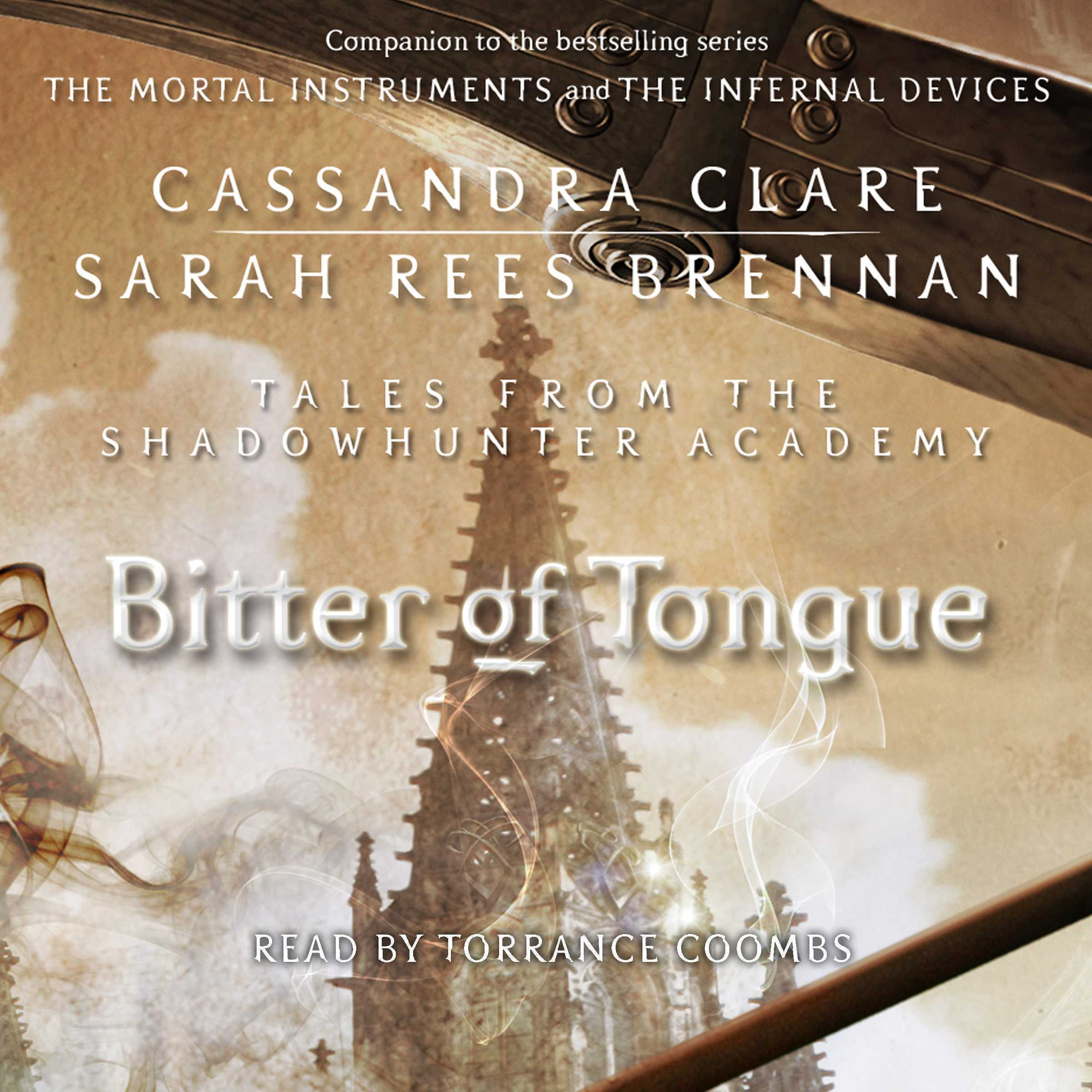 Printable Bitter of Tongue Audiobook Cover Art